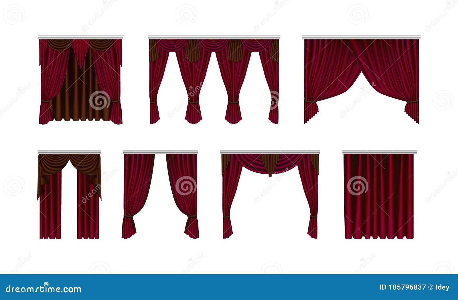 Tende In Velluto Di Seta bello stabilito, di seta, tende del velluto oggetti interni