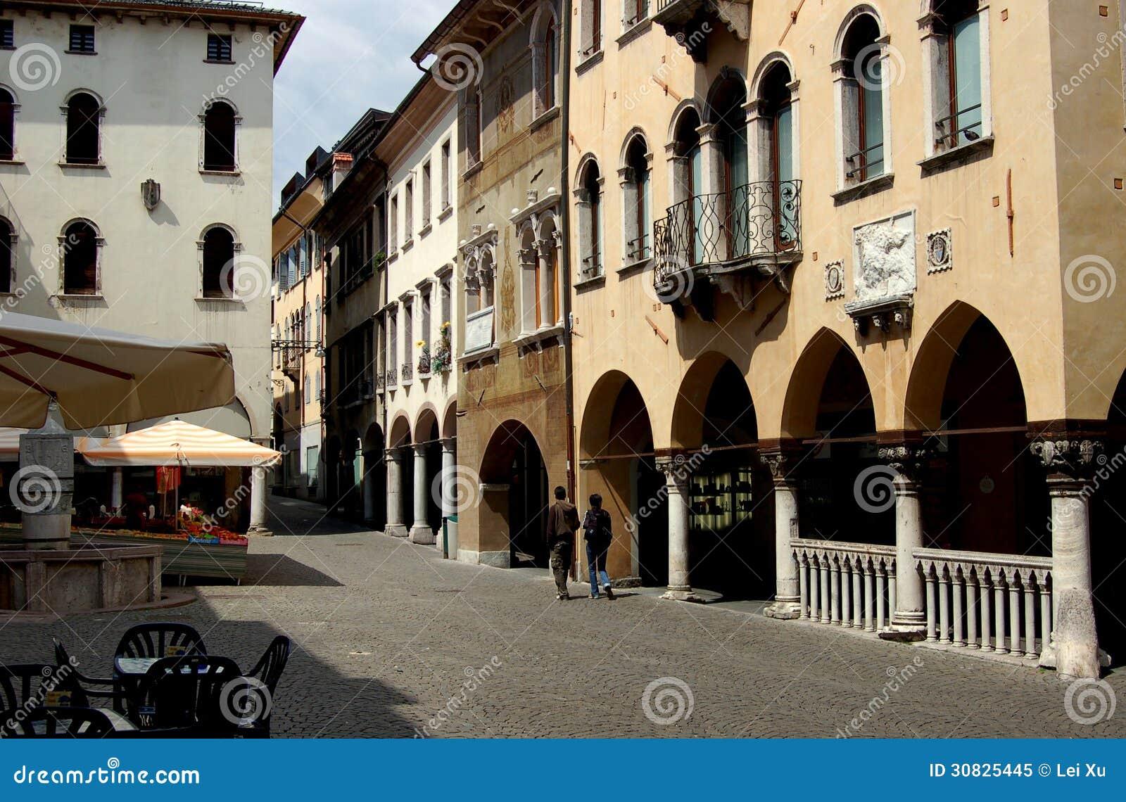 Belluno, Italia: Piazza del Mercato