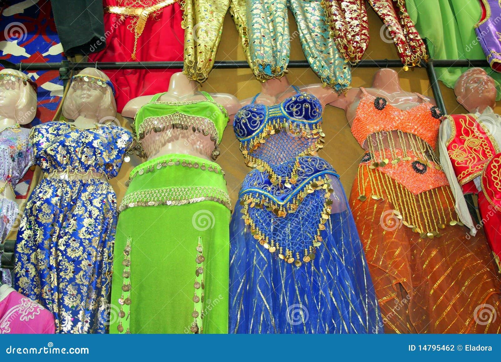 Belly Dancer Dress Stock Photo Image Bazaar Accessories 14795462 Dancing