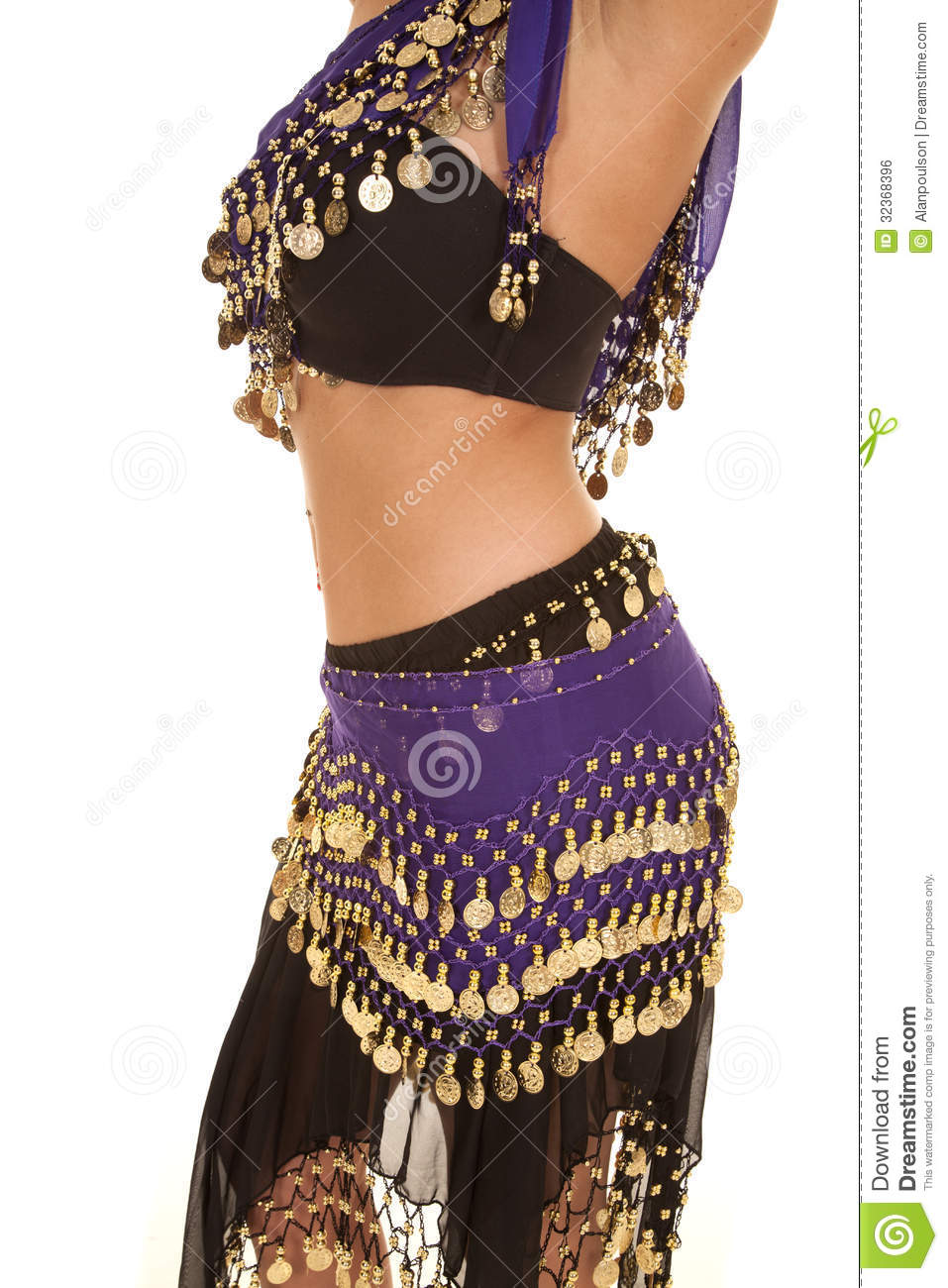 c185bf44a Belly dancer mid side view stock photo. Image of clothing - 32368396