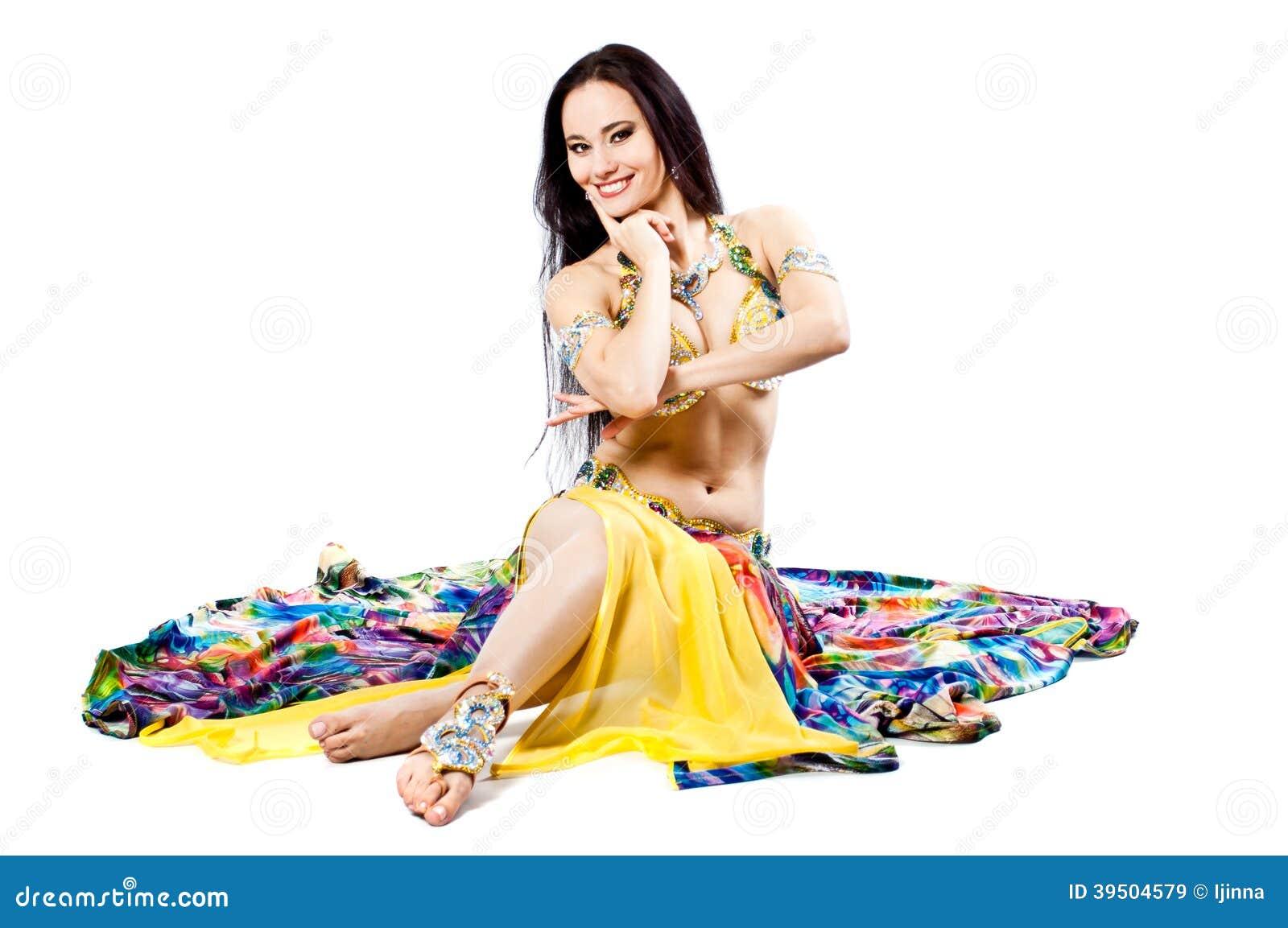 Bellydancer girl portrait