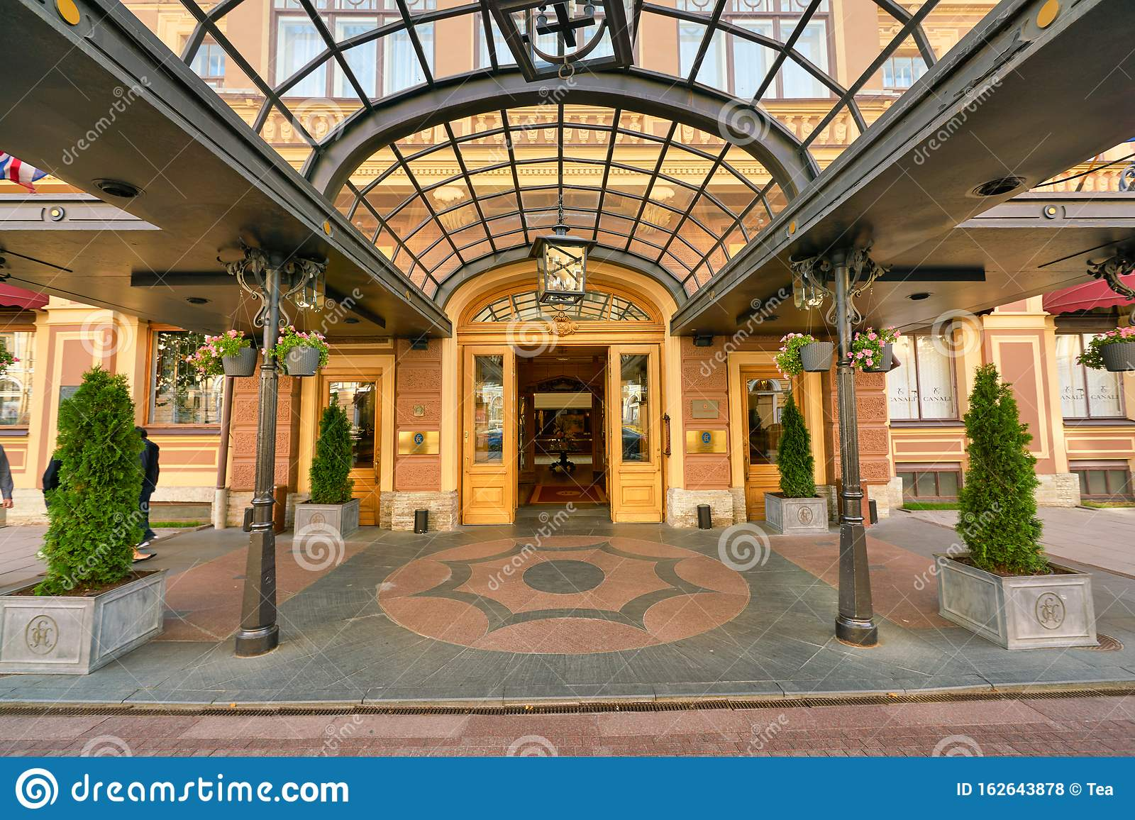 The Belmond Grand Hotel Europe Editorial Stock Photo Image Of Luxury Building 162643878