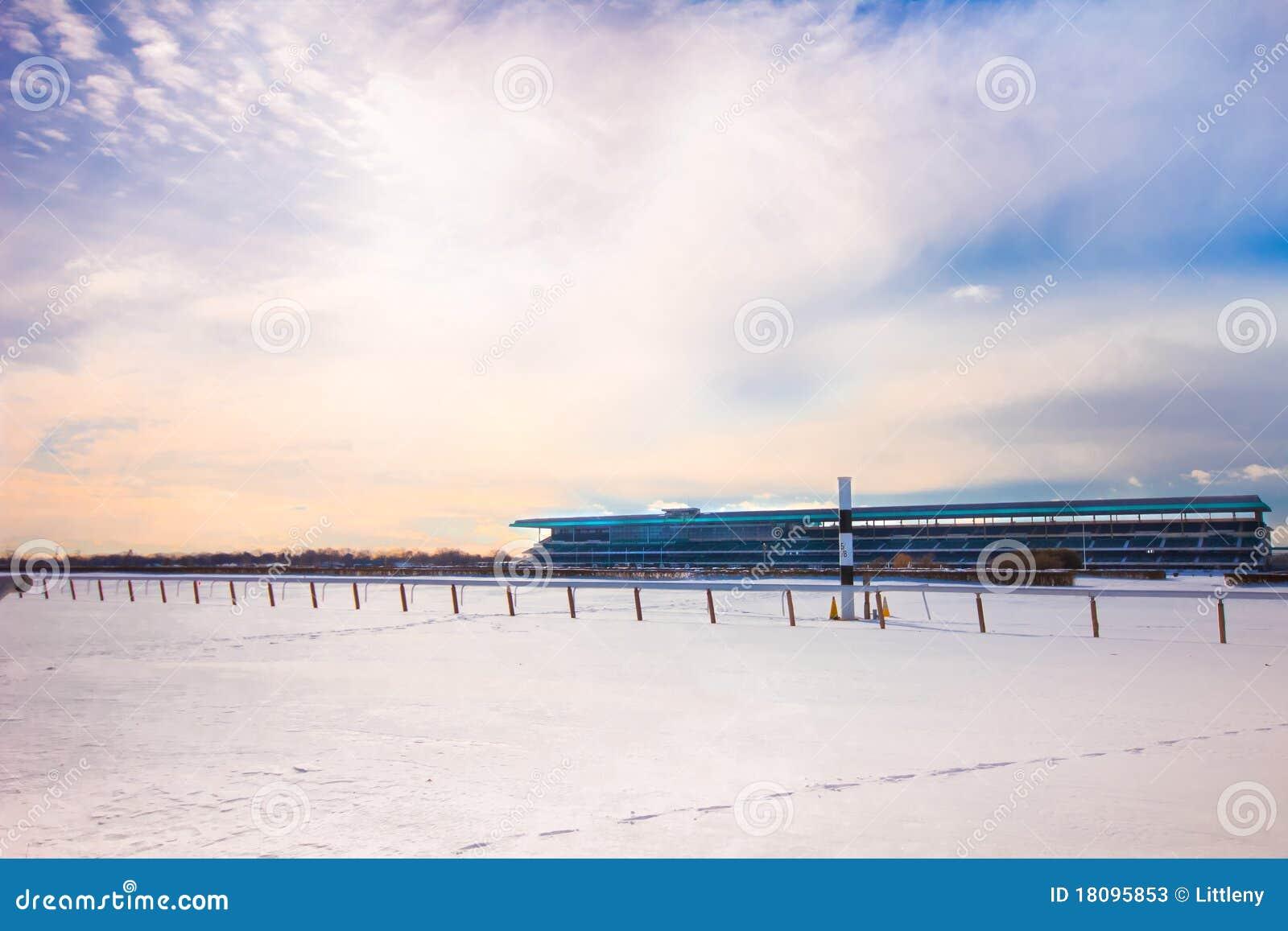 Belmont Race Track Winter 2011
