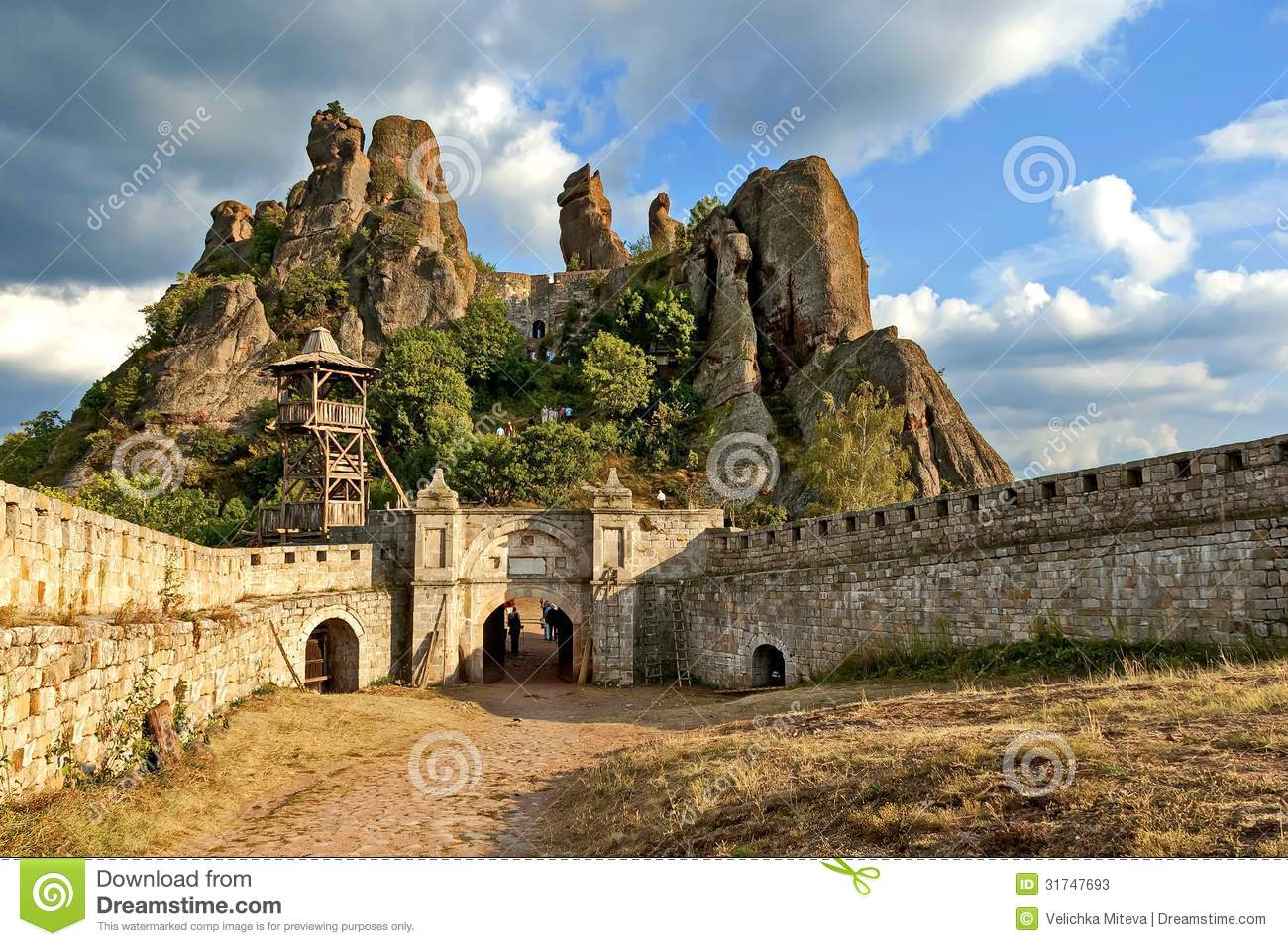 Belogradchik Rocks Fortress, Bulgaria, Europe Stock Photos - Image ...