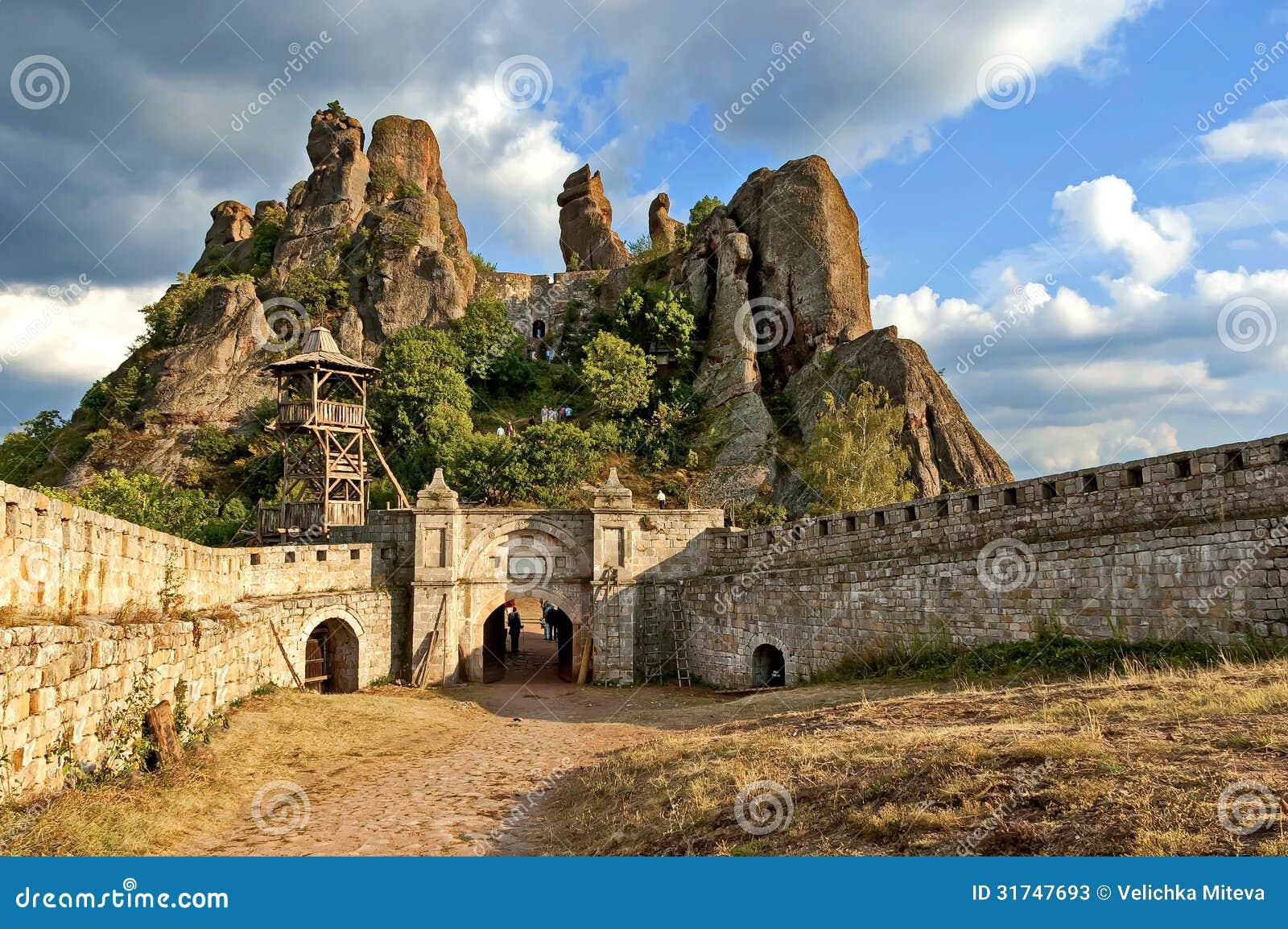 Belogradchik Rocks Fortress, Bulgaria, Europe Stock Photos - Image ...
