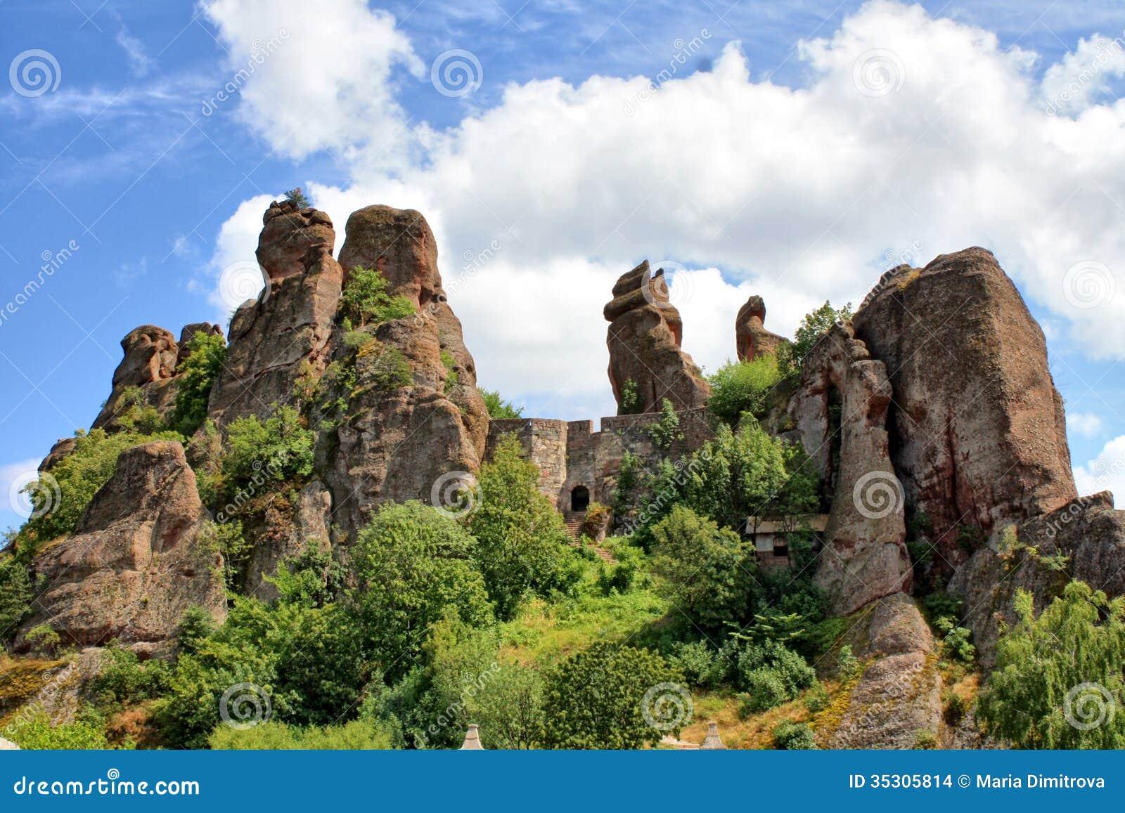 The Belogradchik Rocks Wonder Stock Images Image 35305814