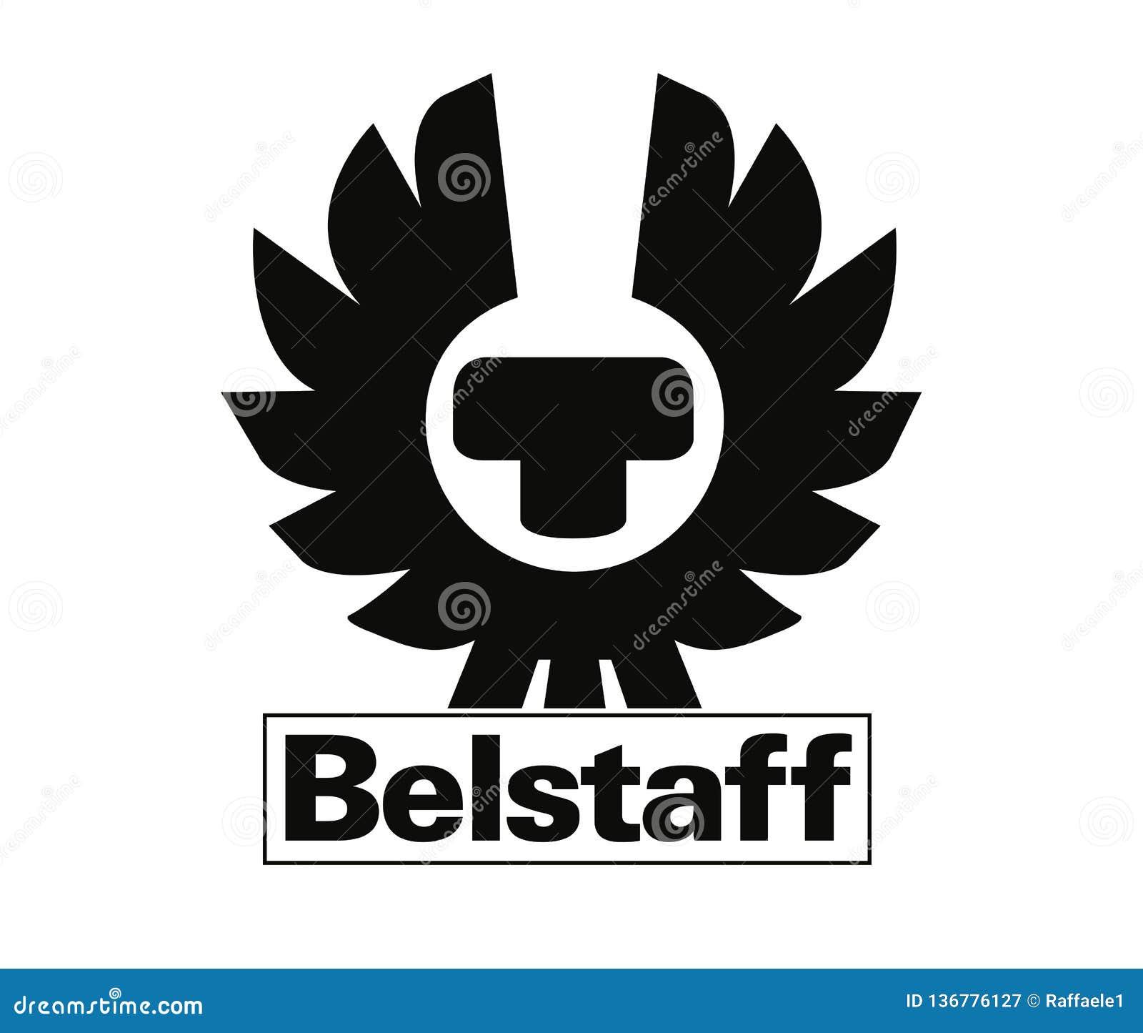 Miniatura Vendedor asesinato  Belstaff Logo editorial photography. Illustration of format - 136776127