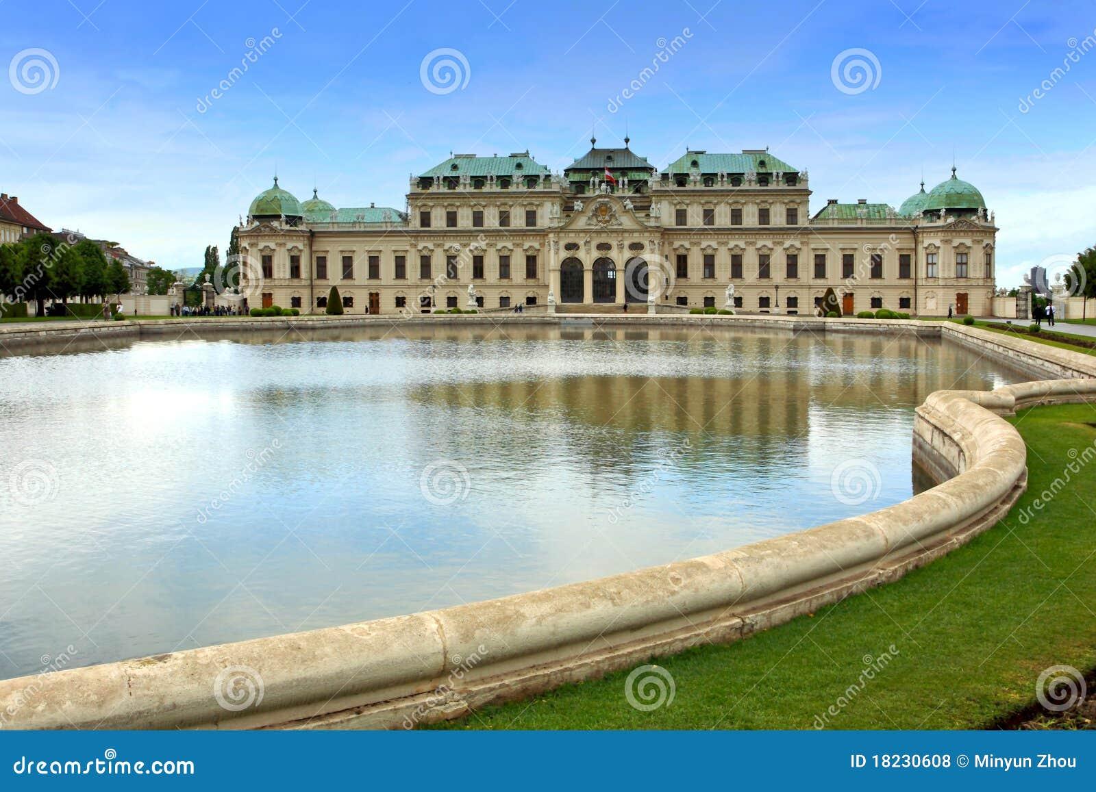 Belvédère Palace.Vienna