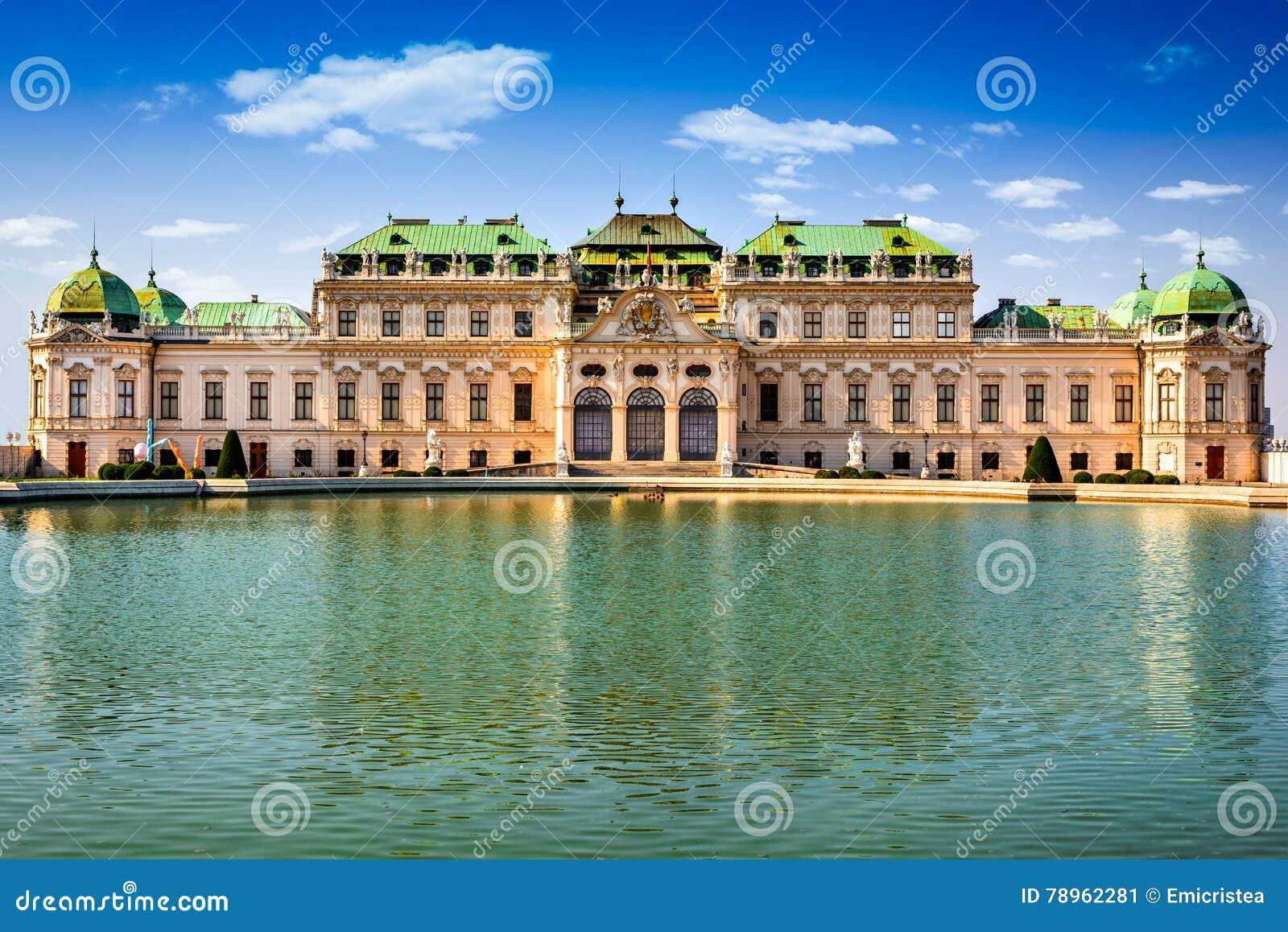 Belvédère, Vienne Autriche
