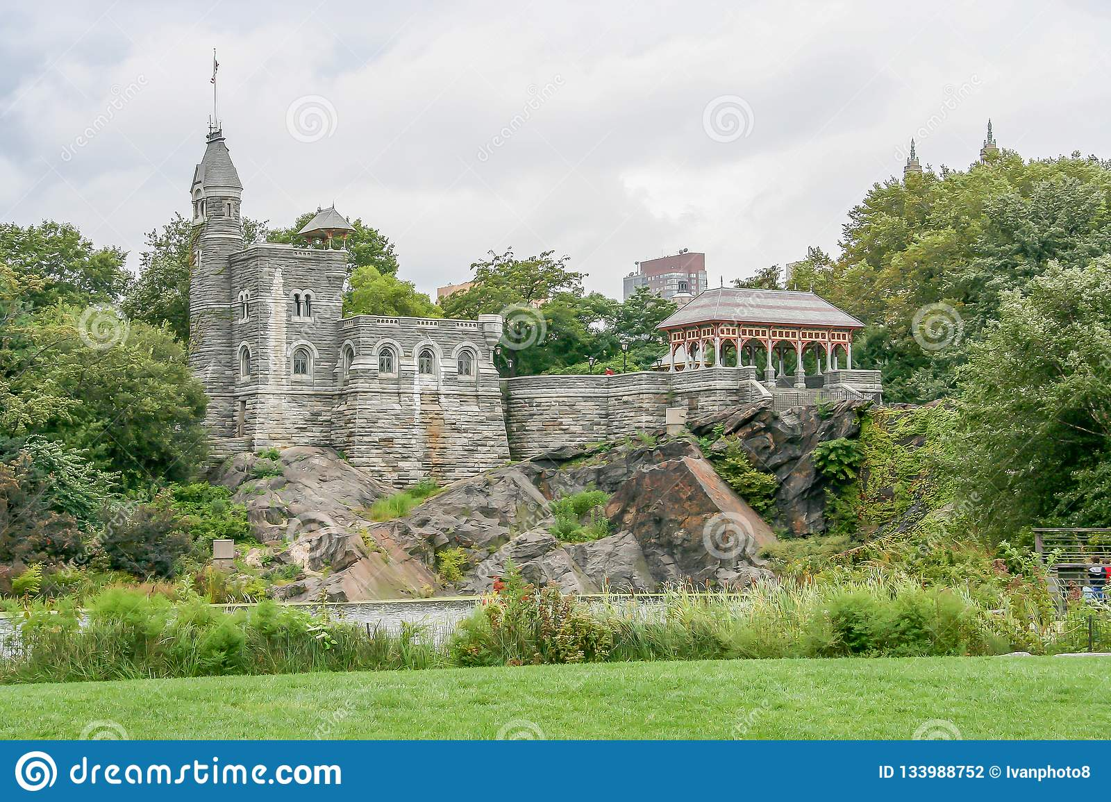 Belvedere Castle in the Central Park