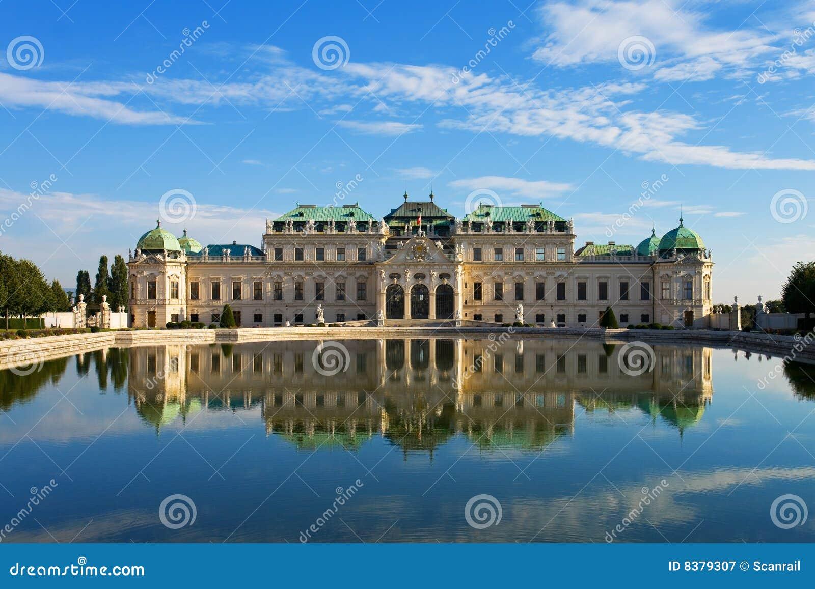 Belvedere del palacio en Viena