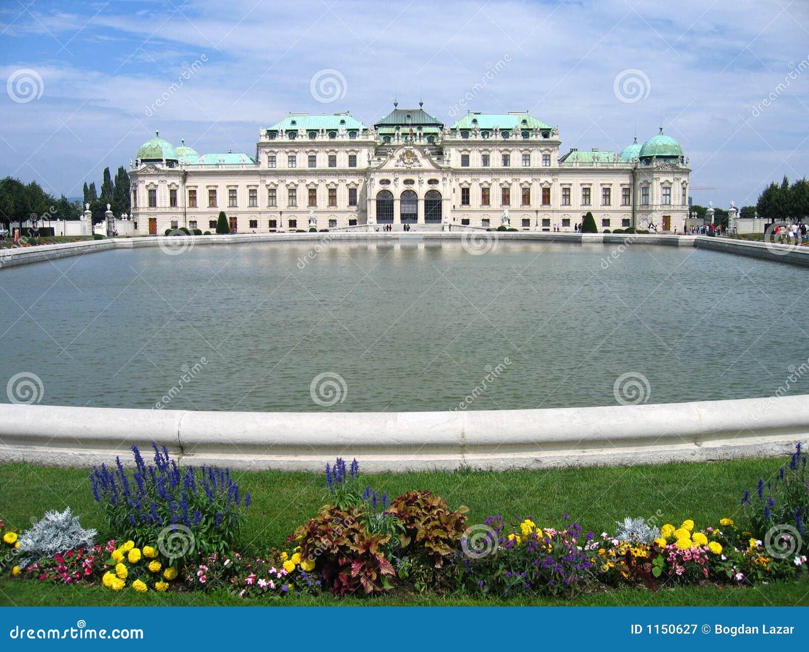 Belvedere Paleis - Wenen, Oostenrijk