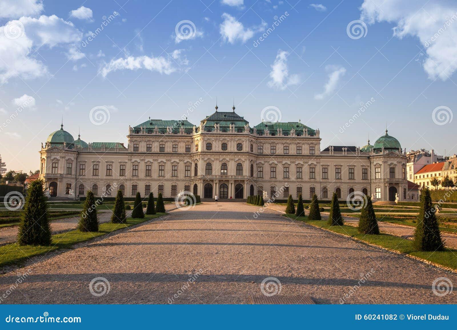 Belvedereslott, Wien