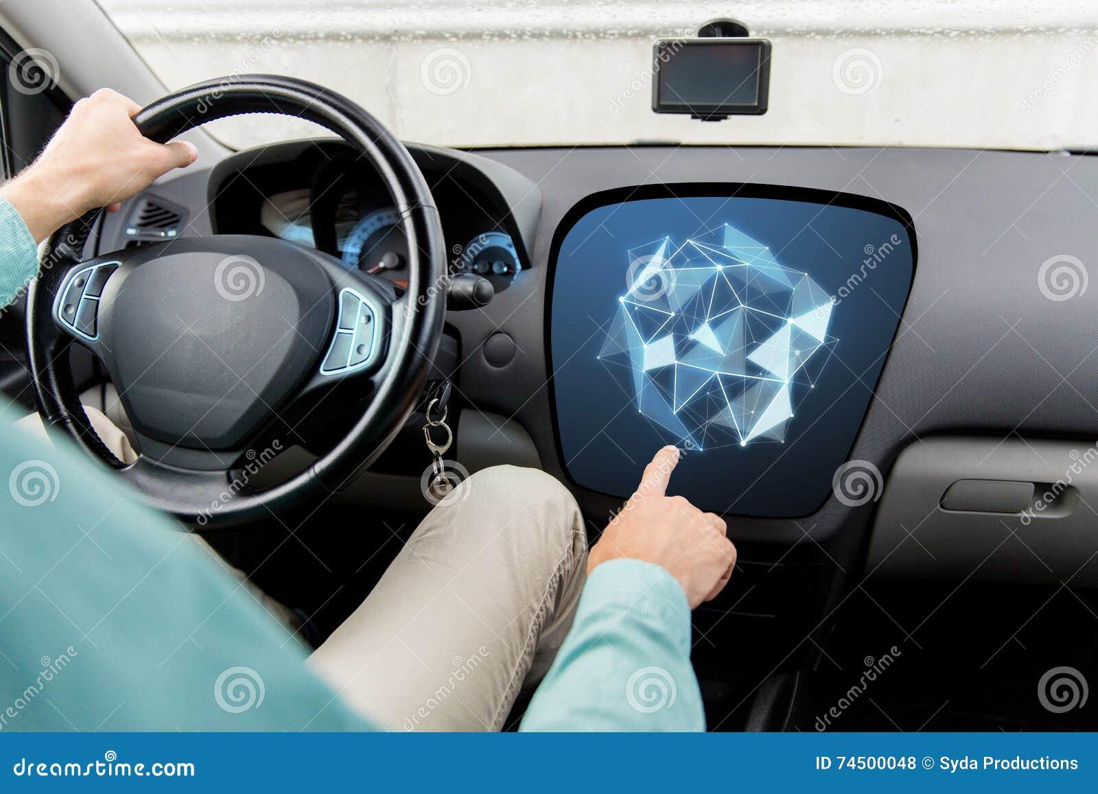 Fahren Sie fingern beim Beim Fahren