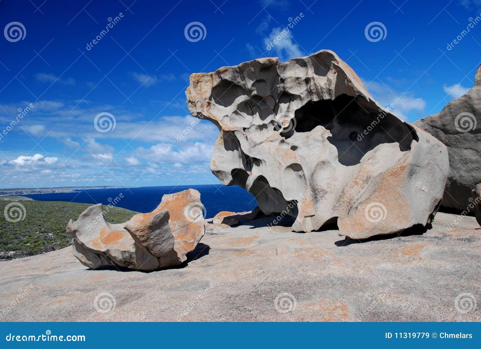 Bemerkenswerte Felsen
