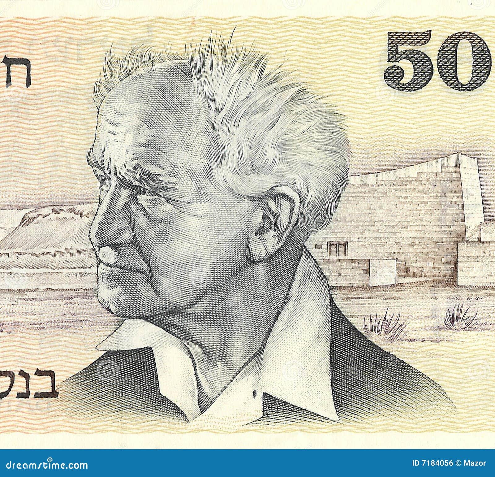 Ben υπουργός του Ισραήλ gurion του Δαβίδ πρώτος πρωταρχικός