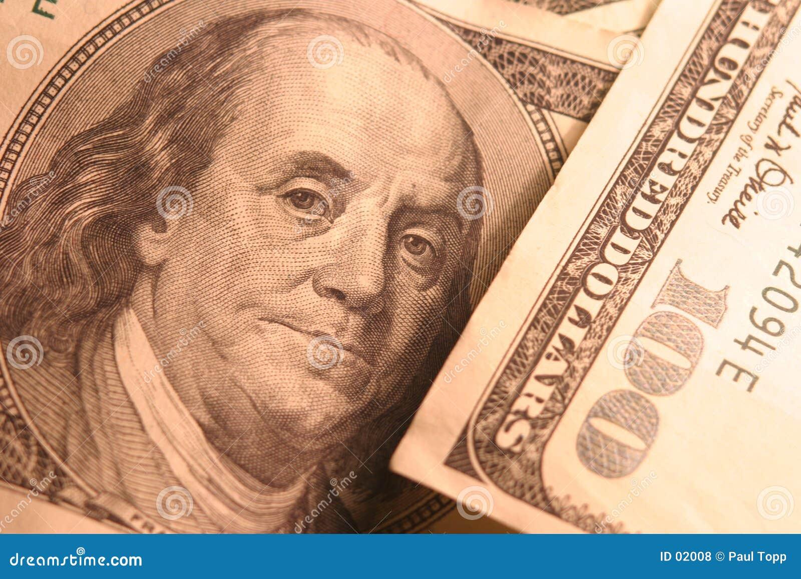Ben 100 rachunku dolar Franklin