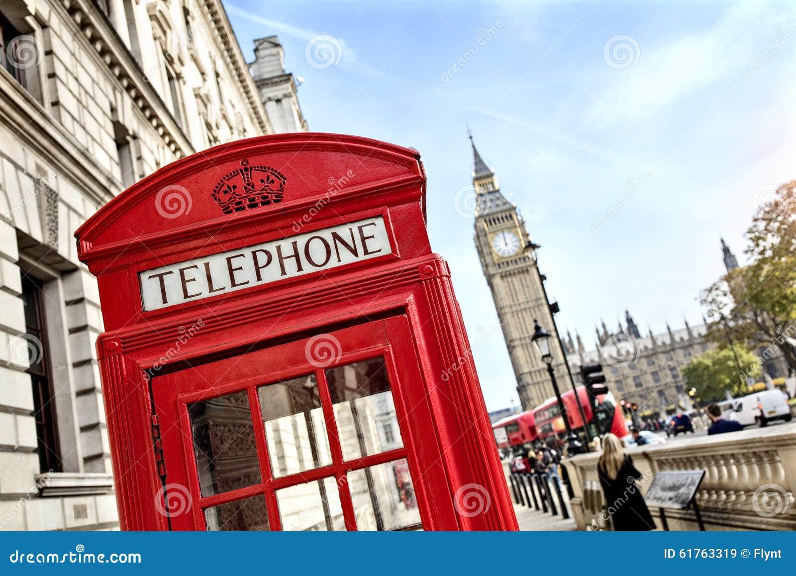 Ben duży budka London telefon