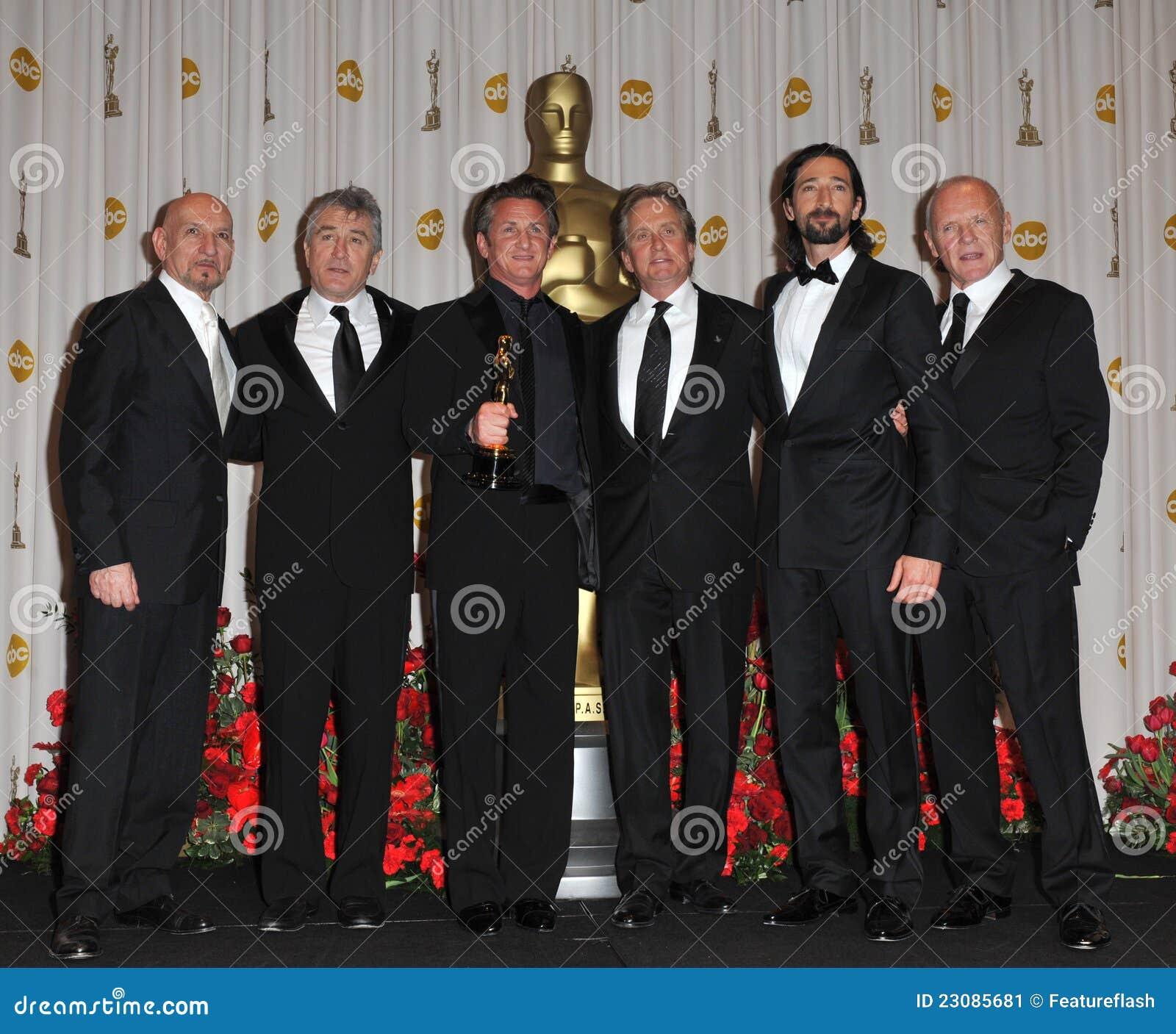Ben Kingsley, Anthony Hopkins, Adrien Brody, Michael Douglas, Robert De Niro, Sean Penn