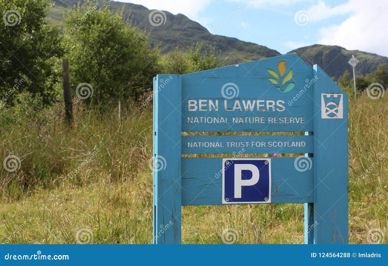 Ben Lawers Krajowy rezerwat przyrody, Szkocja