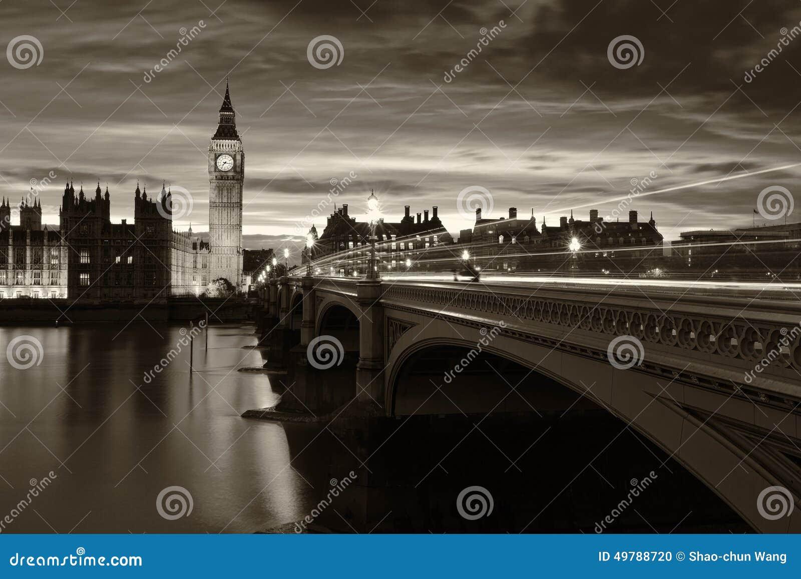 Ben London grande monocromático
