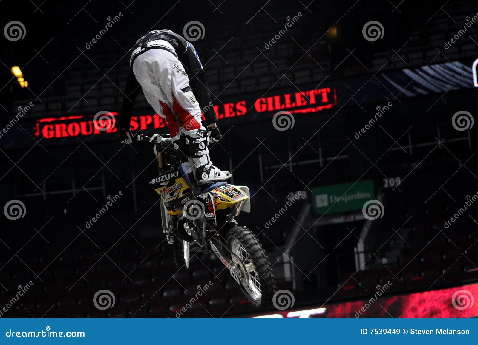 Ben Milot Free Style Motocross Editorial Stock Image - Image