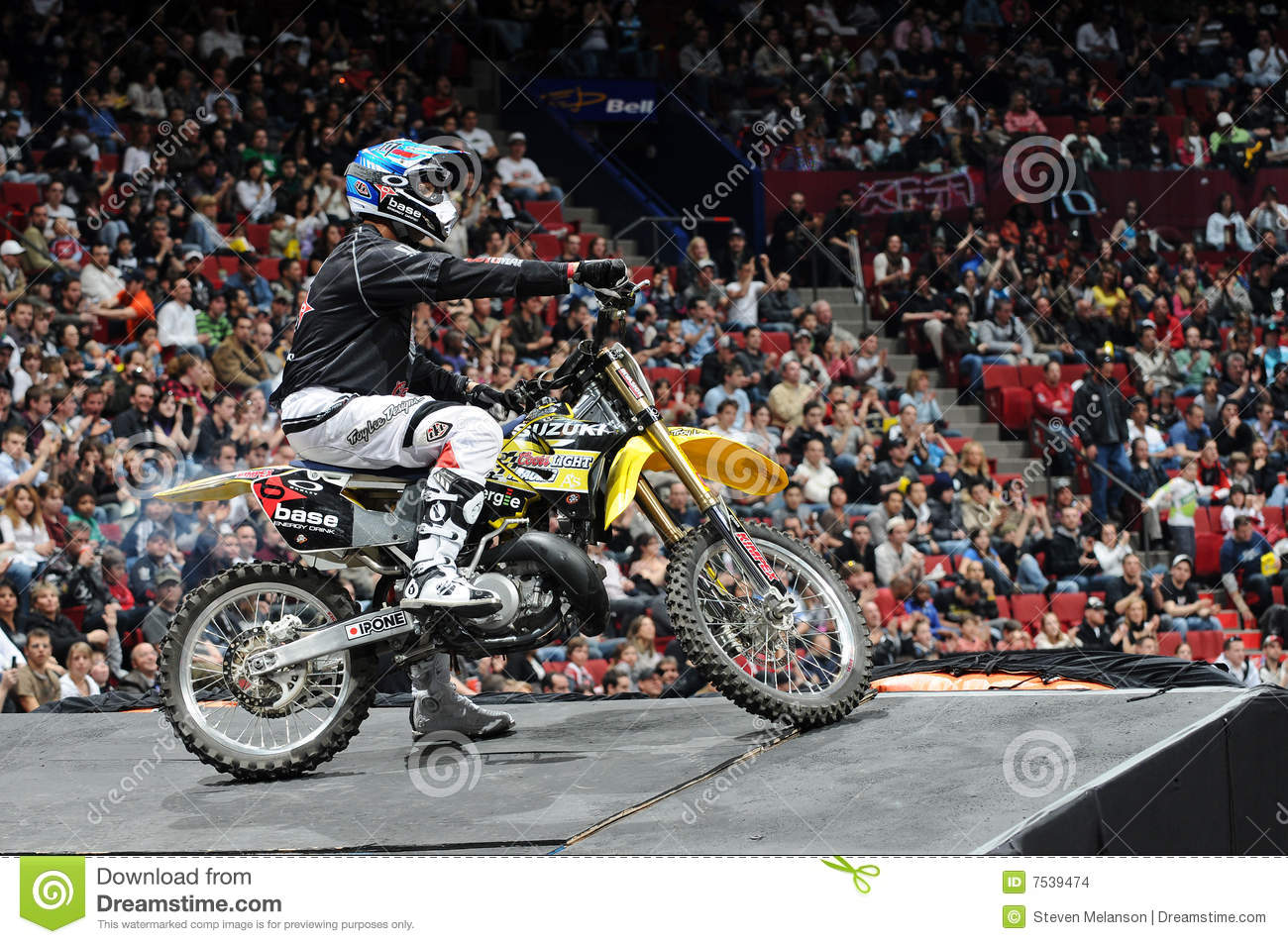 Ben Milot Free Style Motocross Editorial Stock Image - Image of