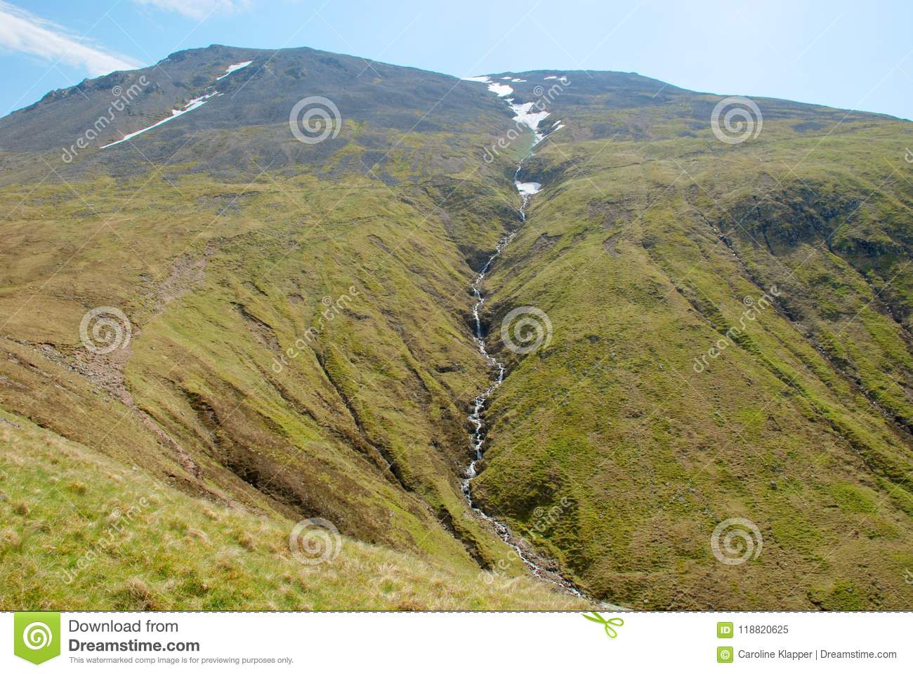 Ben Nevis Highest Peak in het UK