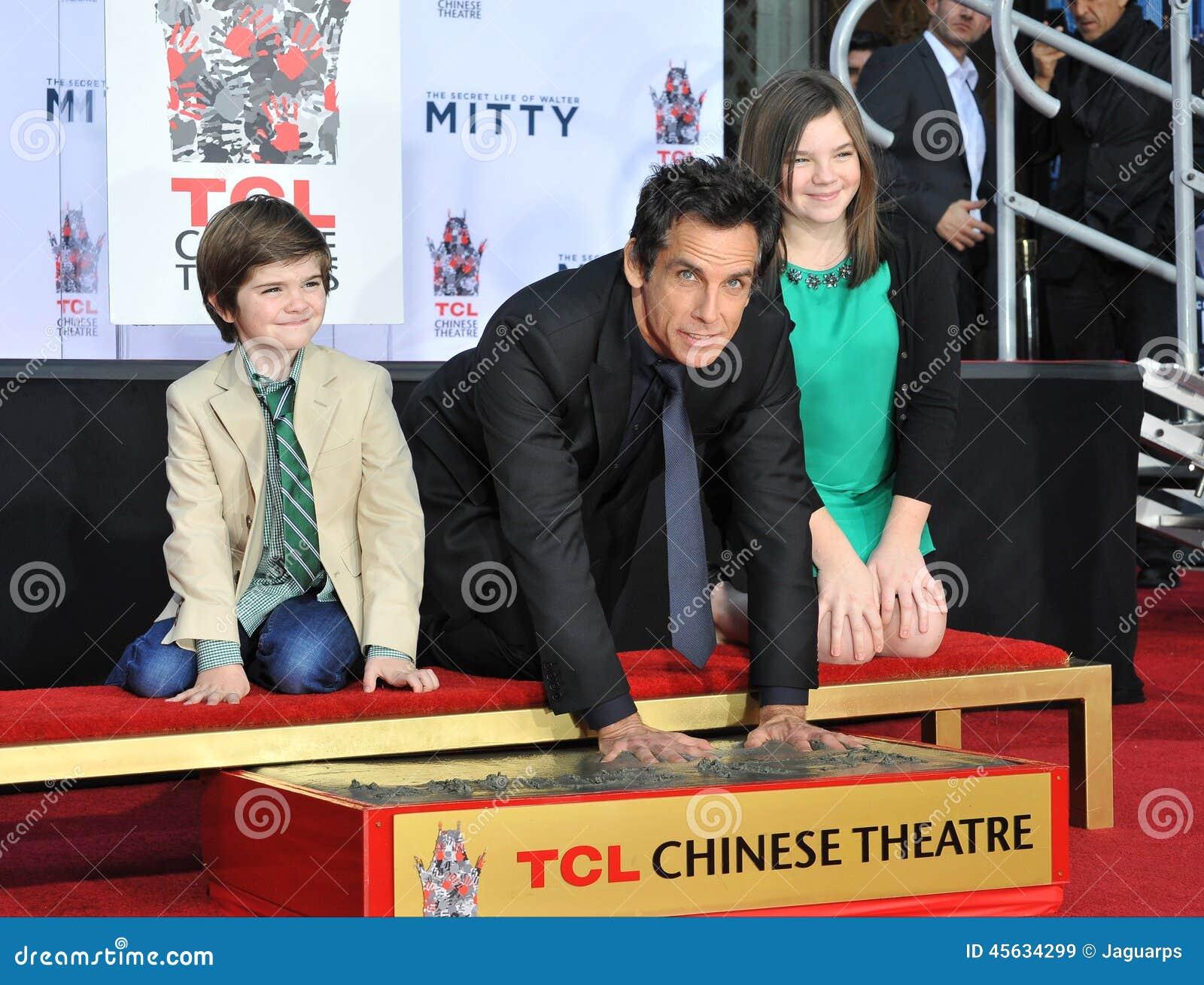 Ben Stiller & Ella Olivia Stiller & Quinlin Dempsey ...