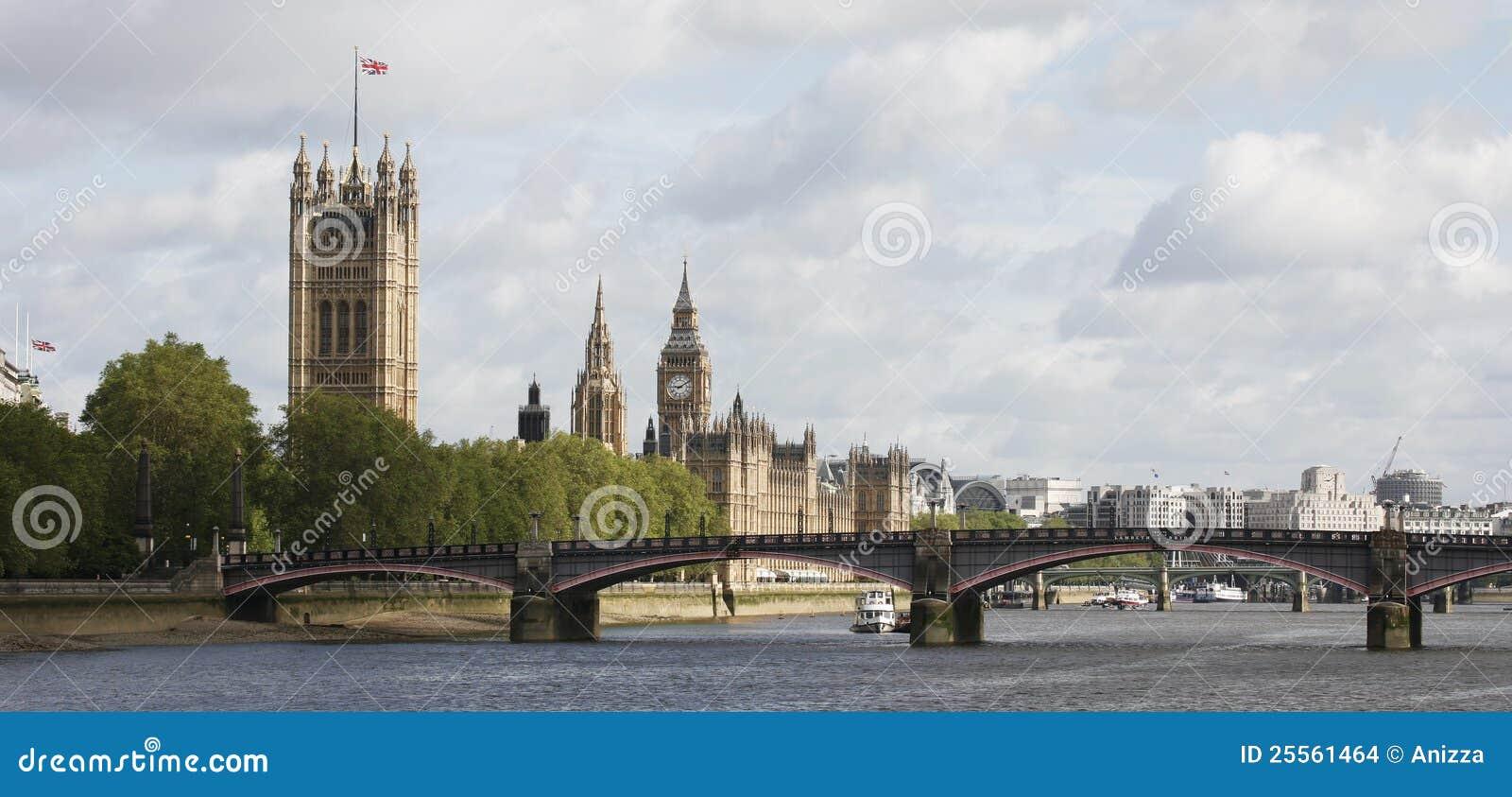 Ben stor london slotthorisont westminster