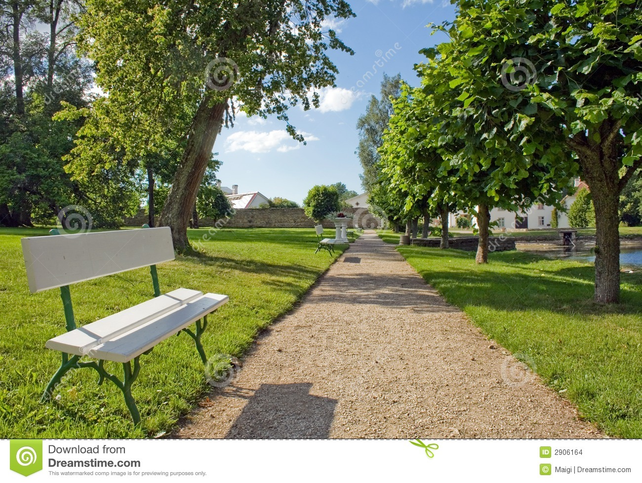 Bench In The Park Stock Images - Image: 2906164