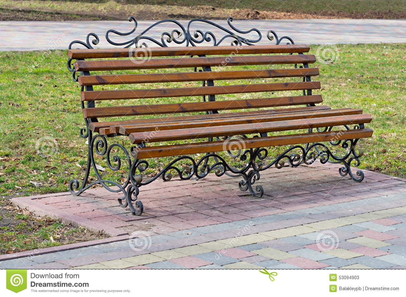 benches stock photo image 53094903