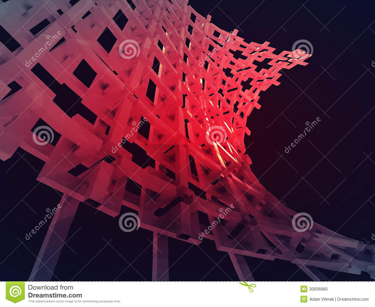 Bended red construction network wallpaper stock photo for Contractors network
