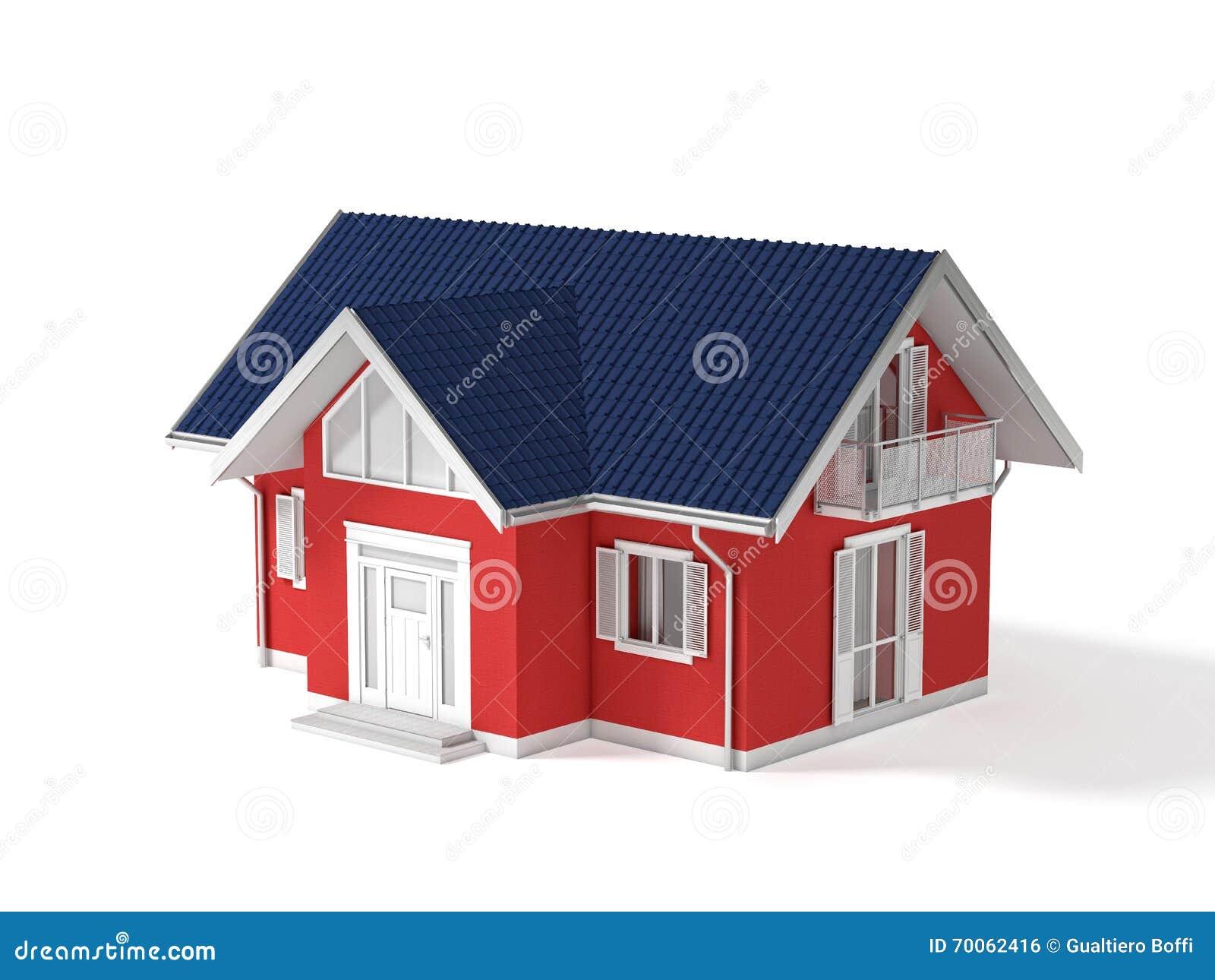 Bene immobile 3d illustrazione di stock illustrazione di for Programmi 3d architettura