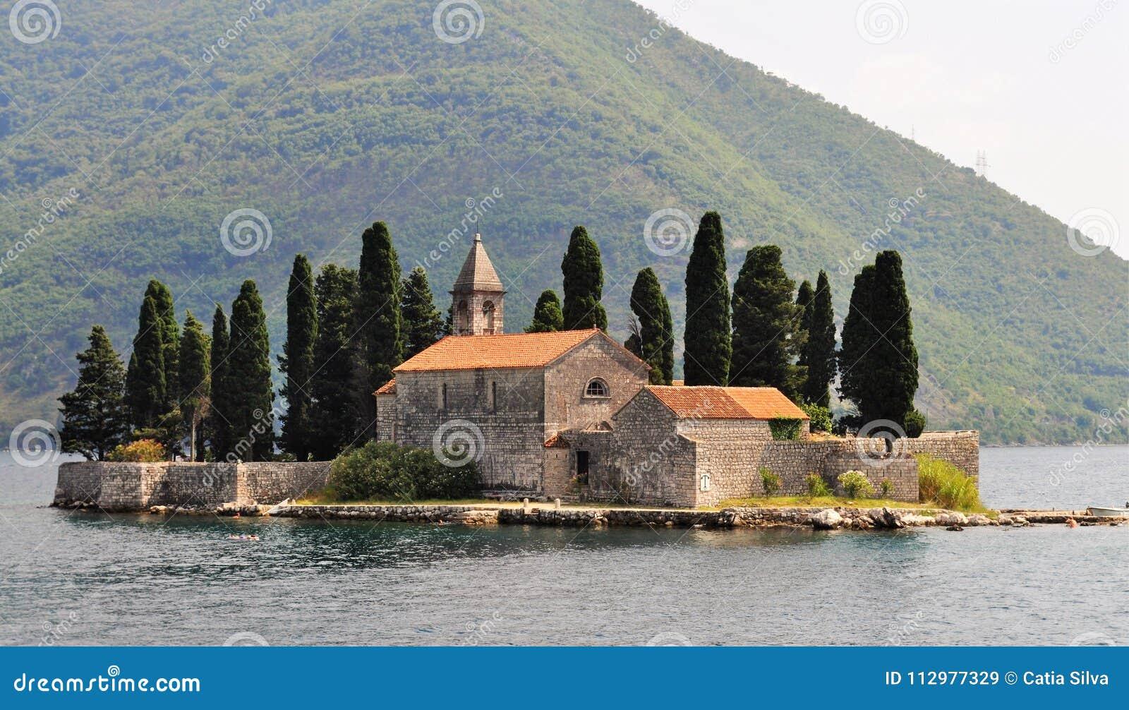 Benedictine monastery at Sveti Dorde island