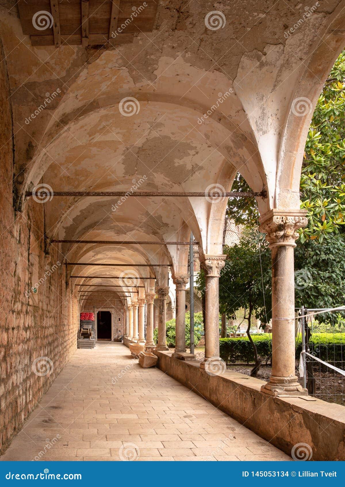 Benedictine monatstery στο νησί Lokrum σε Dubrovnik, Κροατία