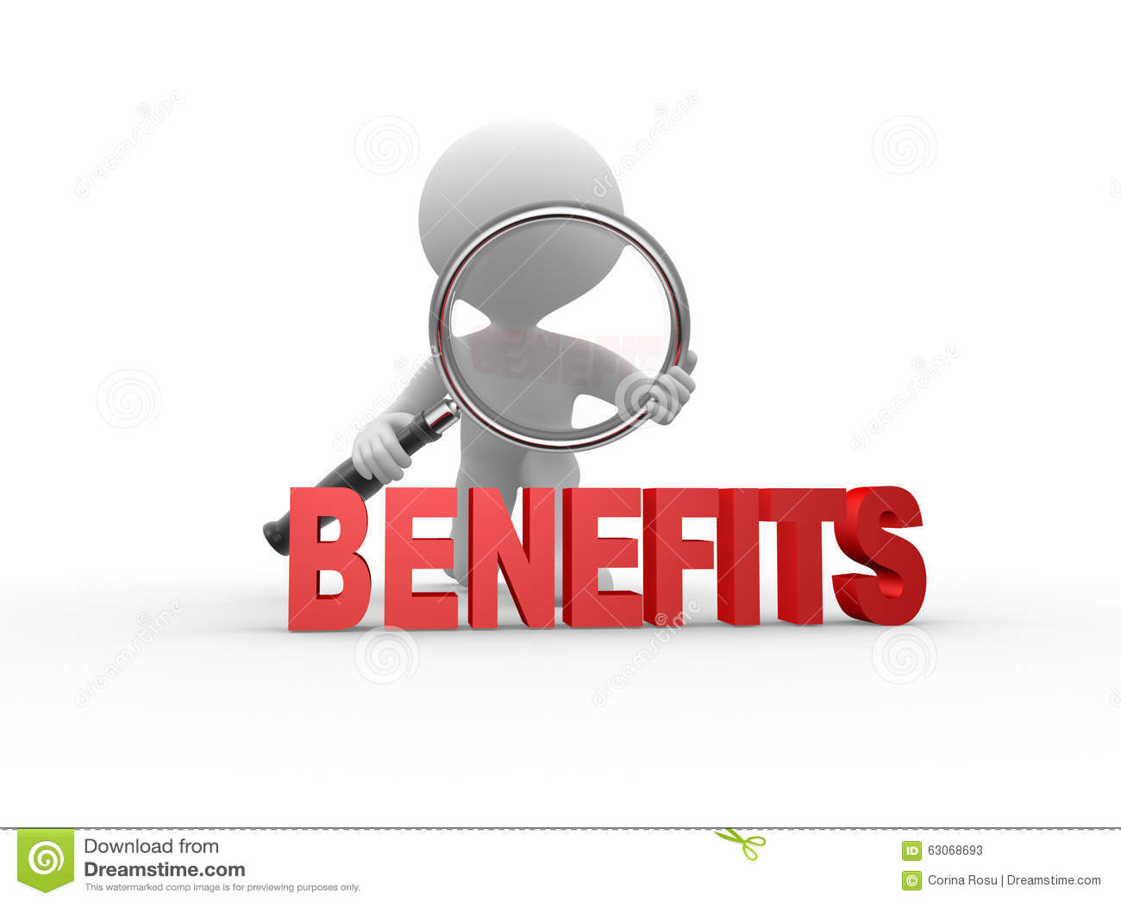 Benefits Stock Illustration Image 63068693