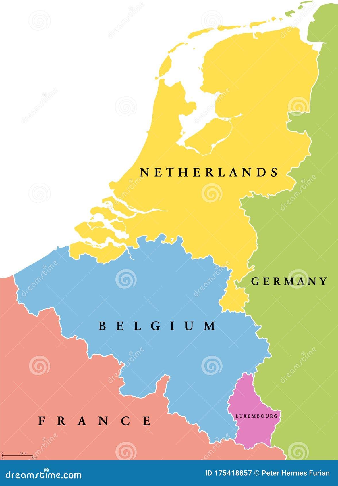 Cartina Olanda Politica.Benelux Belgio Paesi Bassi E Lussemburgo Stati Unici Cartina Politica Illustrazione Vettoriale Illustrazione Di Benelux Isolato 175418857