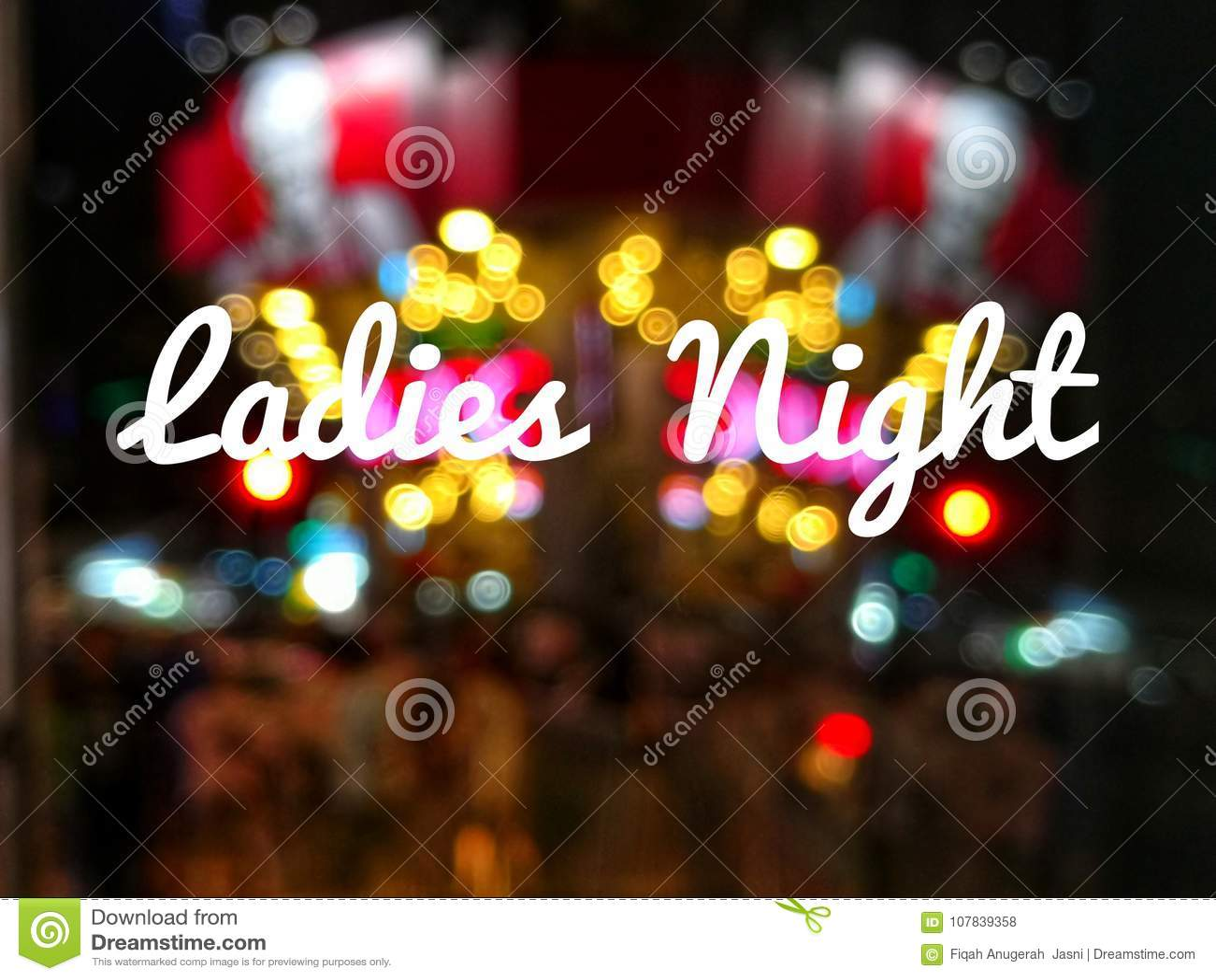 Benennungs-Damen-Nacht