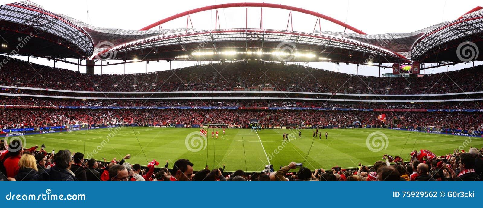 48635be28 Benfica Soccer Stadium Panorama