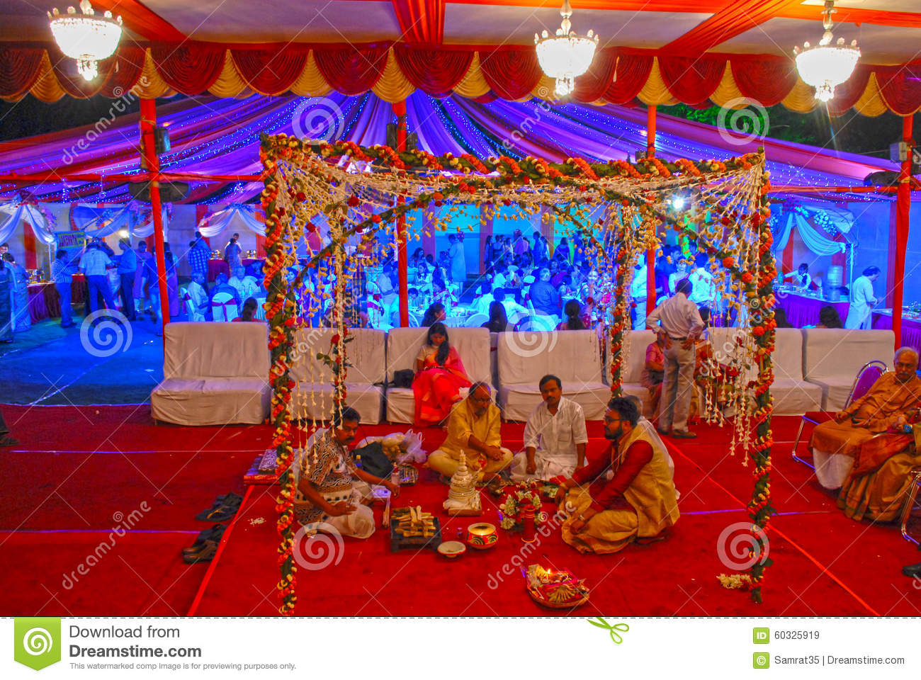 Bengali Marriage Editorial Stock Image Image Of Marriage 60325919
