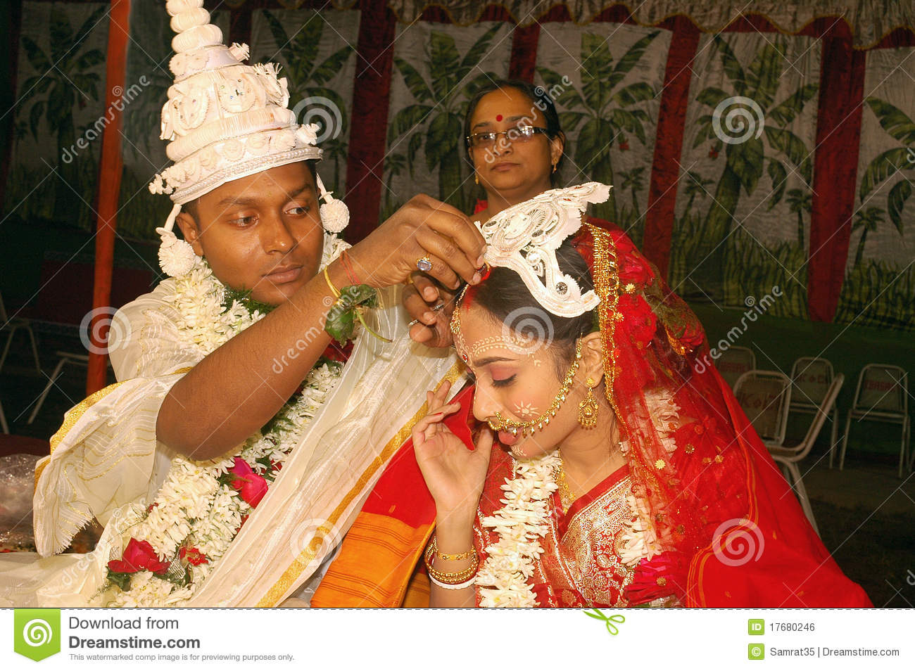 Bengali Wedding Rituals In India Editorial Photo Image Of