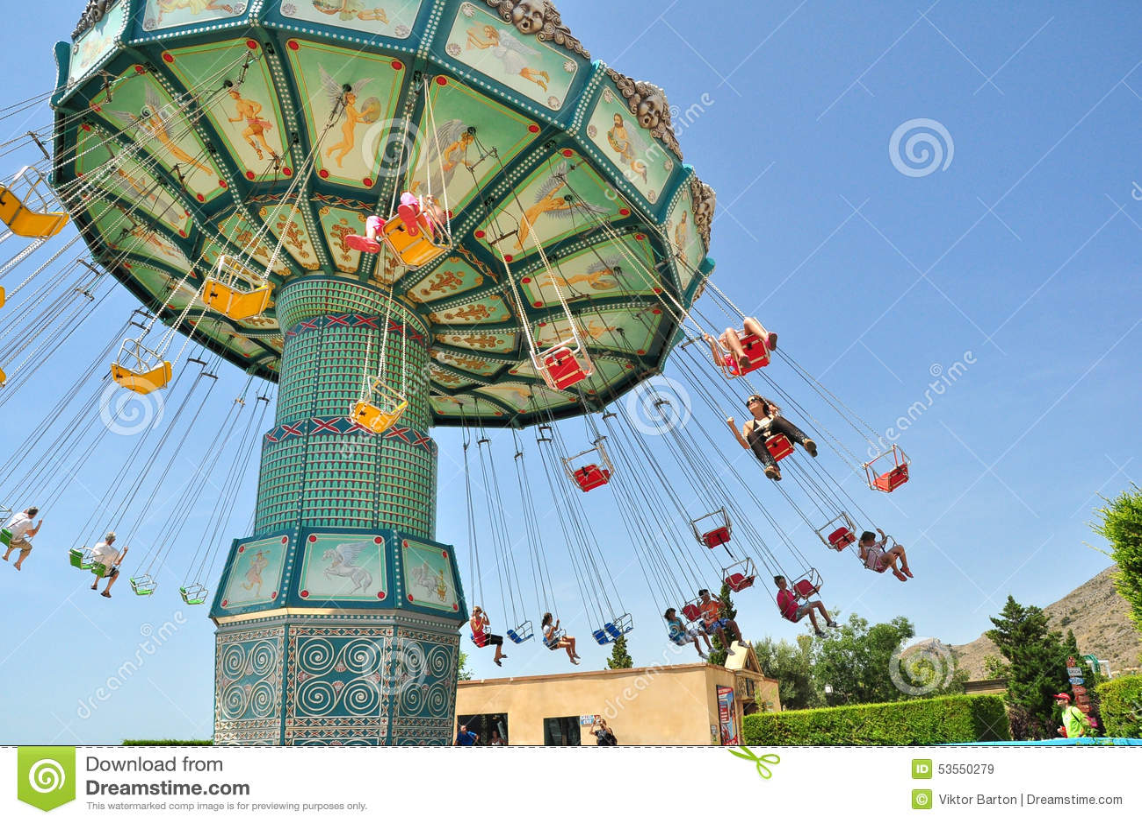 Benidorm carrousel,