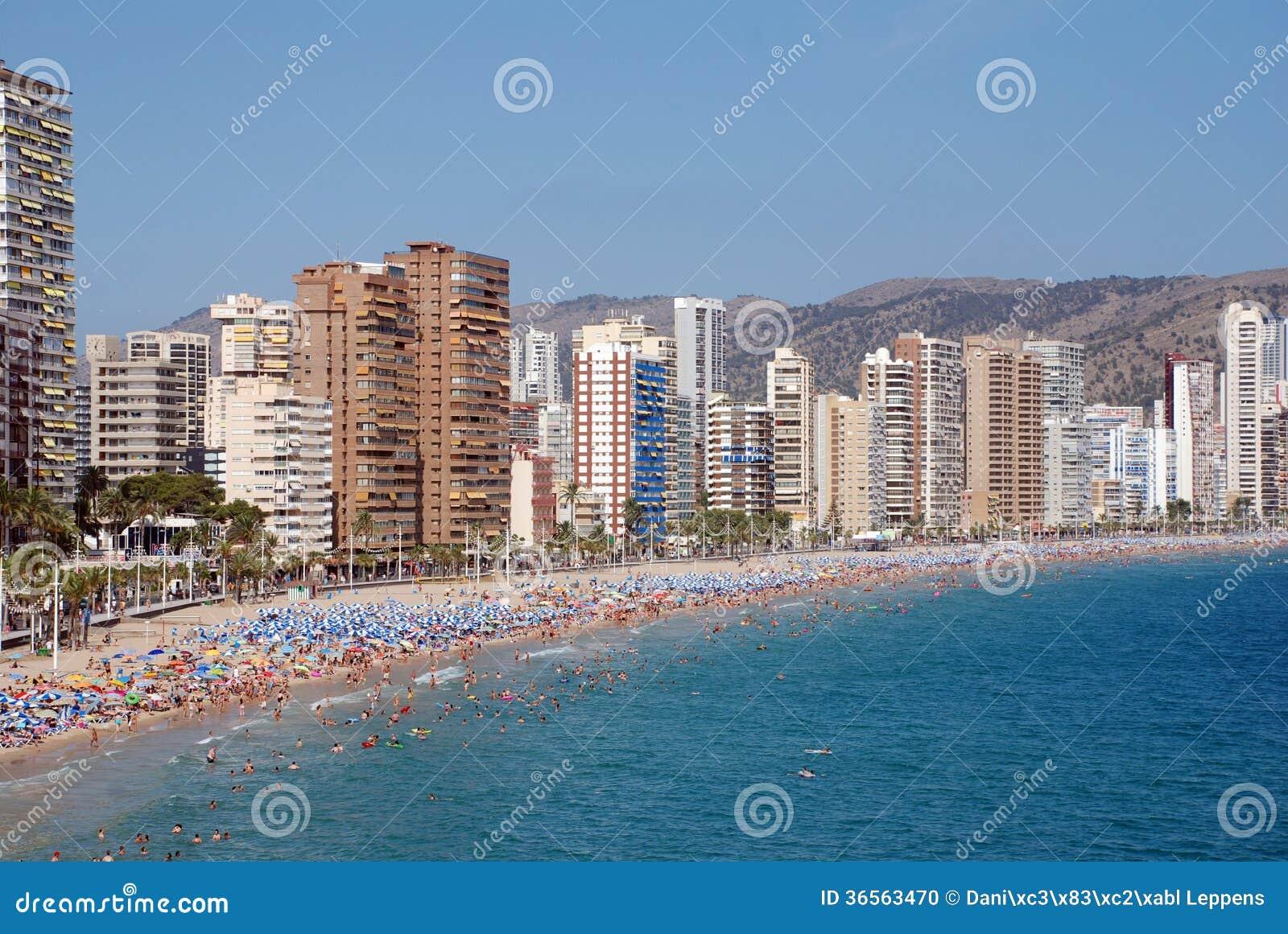 Benidorm - Costa Blanca Spain  city photos gallery : The city Benidorm on the Costa Blanca Spain .