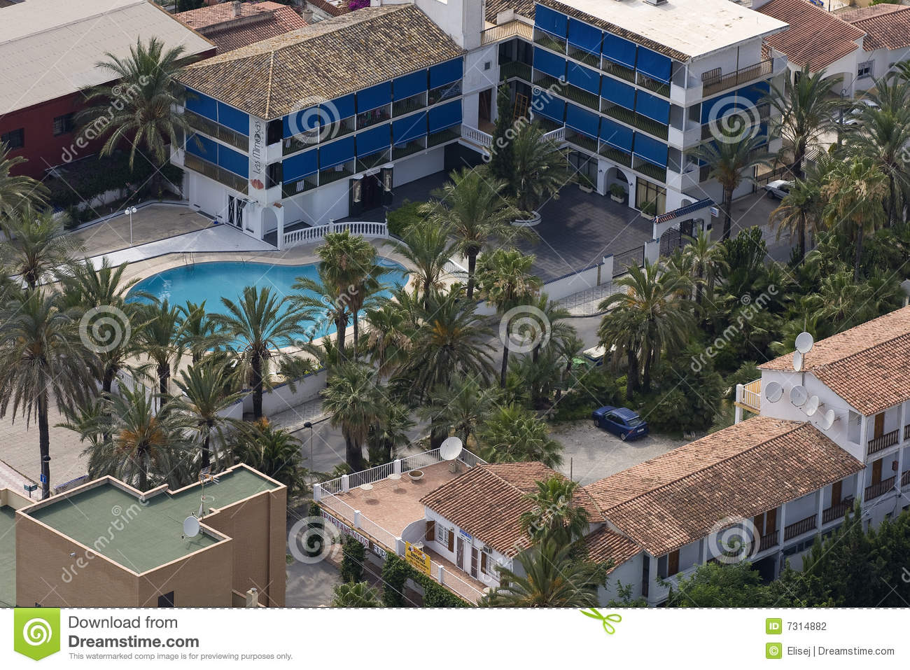 Benidorm. Territorio vicino all hotel