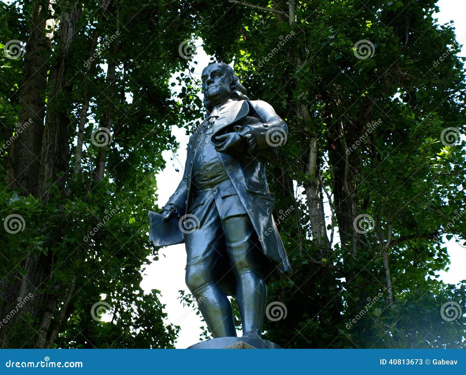 Benjamin Franklin Alternate Angle
