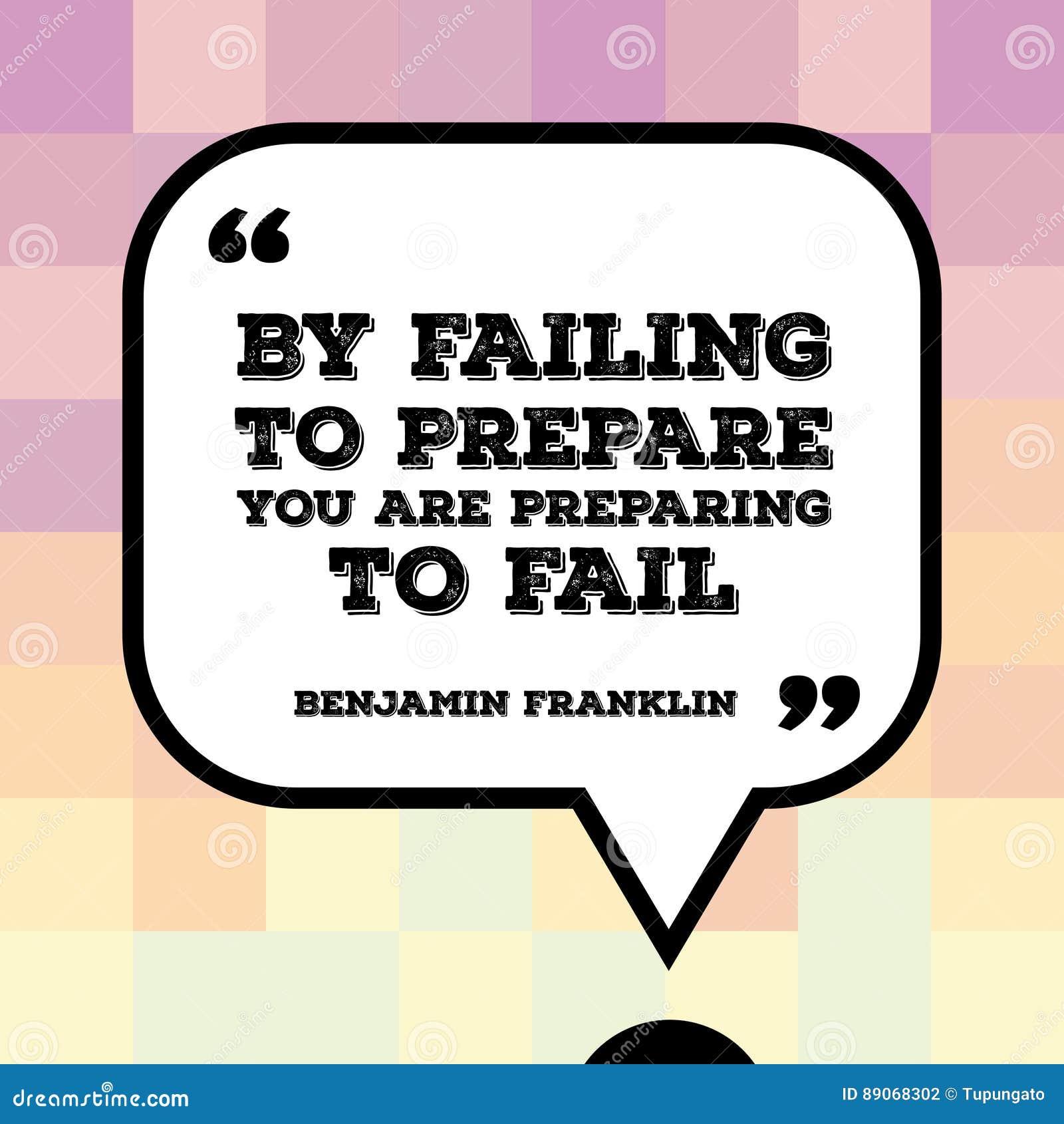 Benjamin Franklin citationstecken