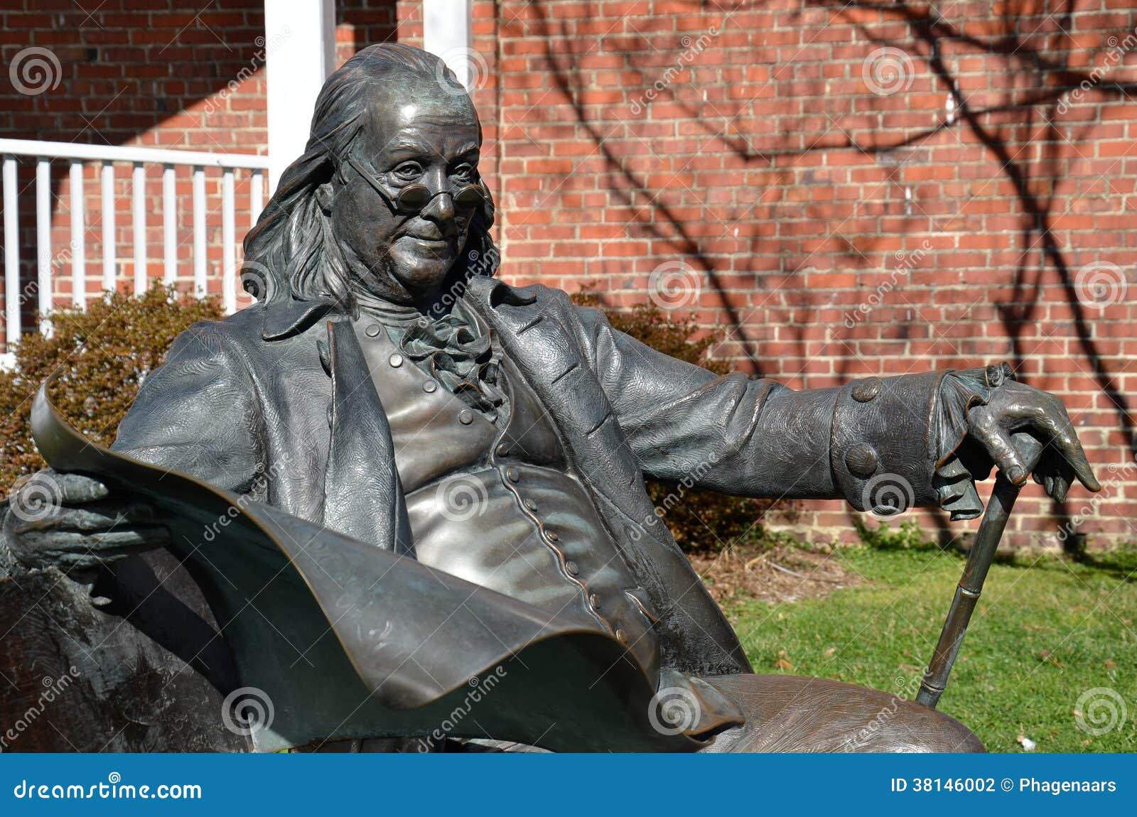 Benjamin Franklin, Main Street, Smithfield, VA