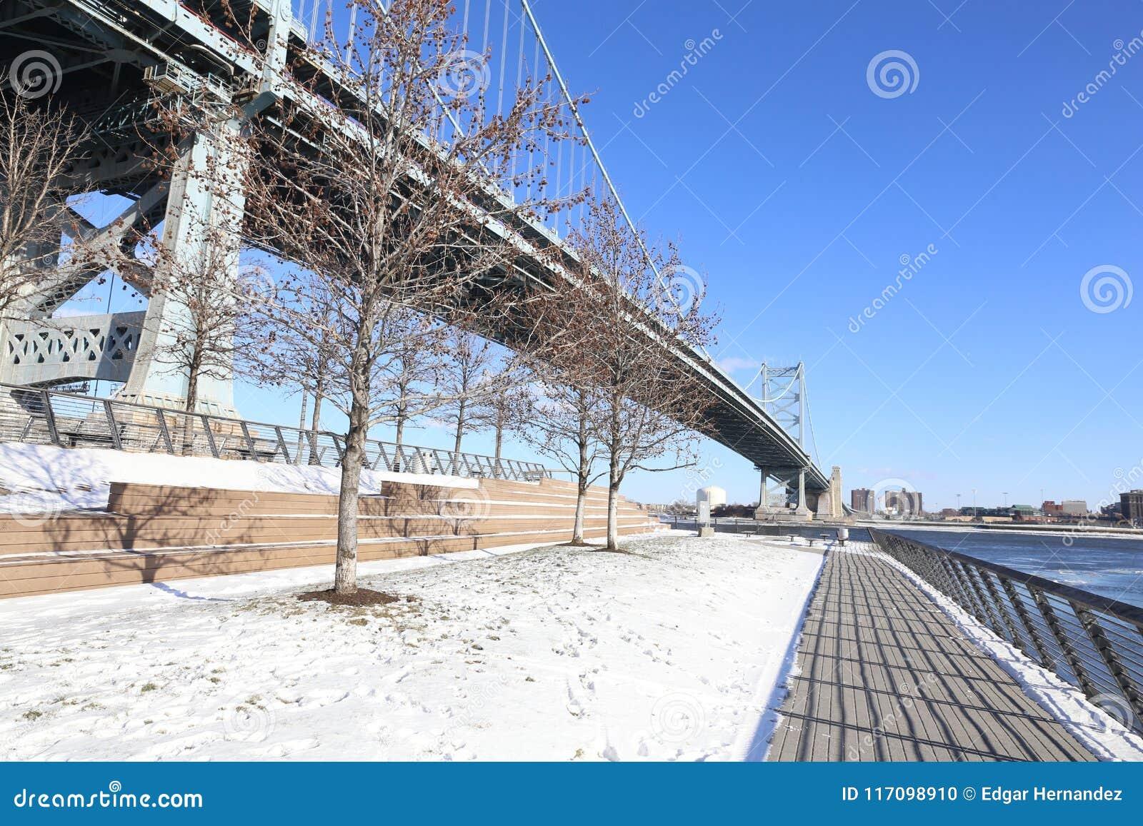 Benjamin Franklin most, Filadelfia, Pennsylwania