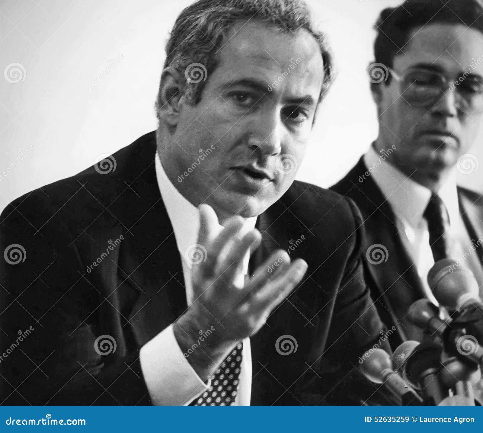 Benjamin Netanyahu e Arye Lewis